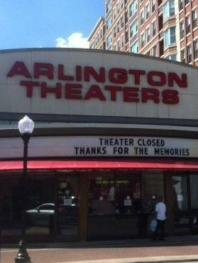 Arlington Theaters said its last goodbye to patrons after closing last week because it wasn't able to convert.