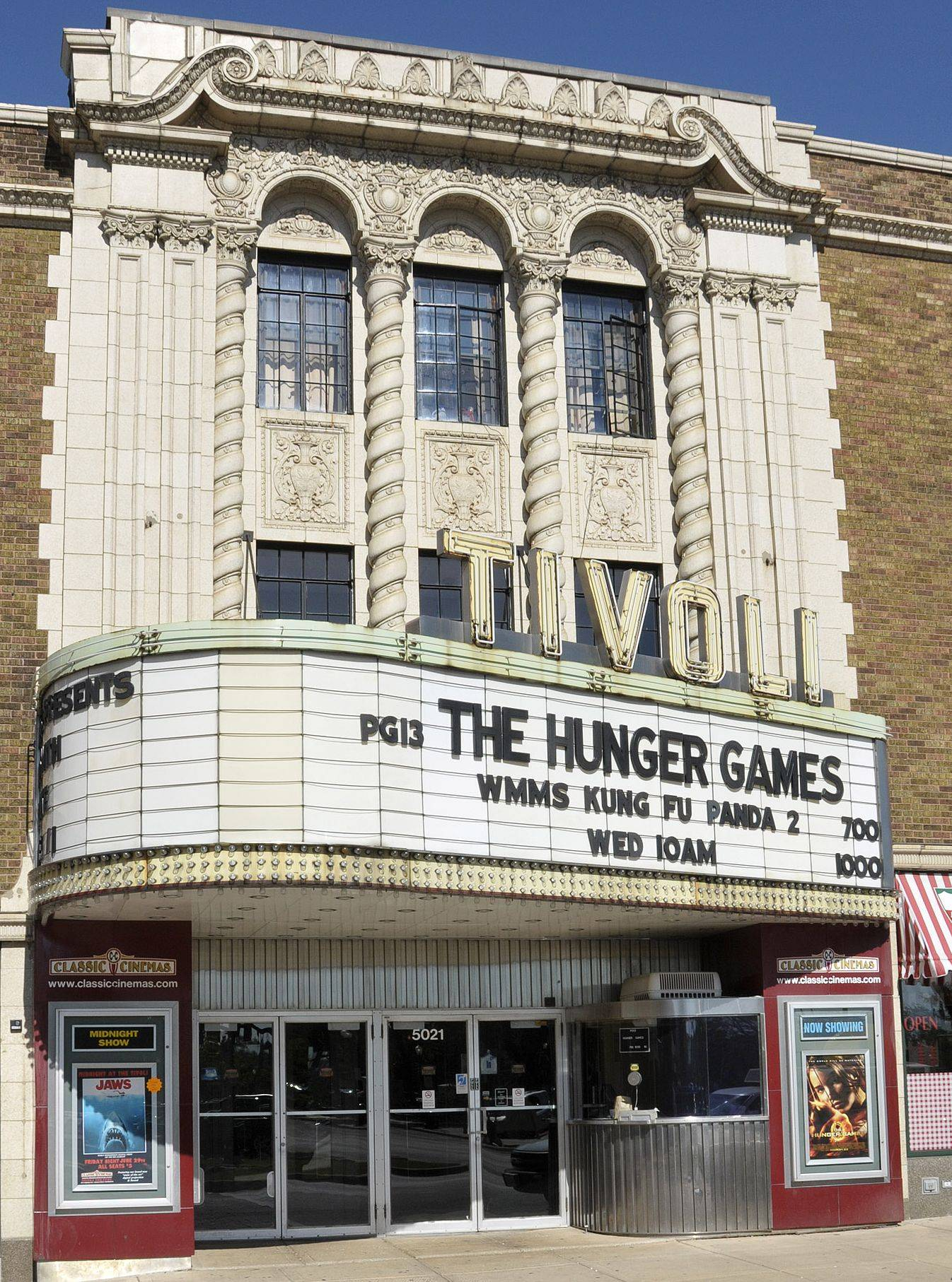 The Tivoli Theater in Downers Grove was converted to digital projection earlier this year.