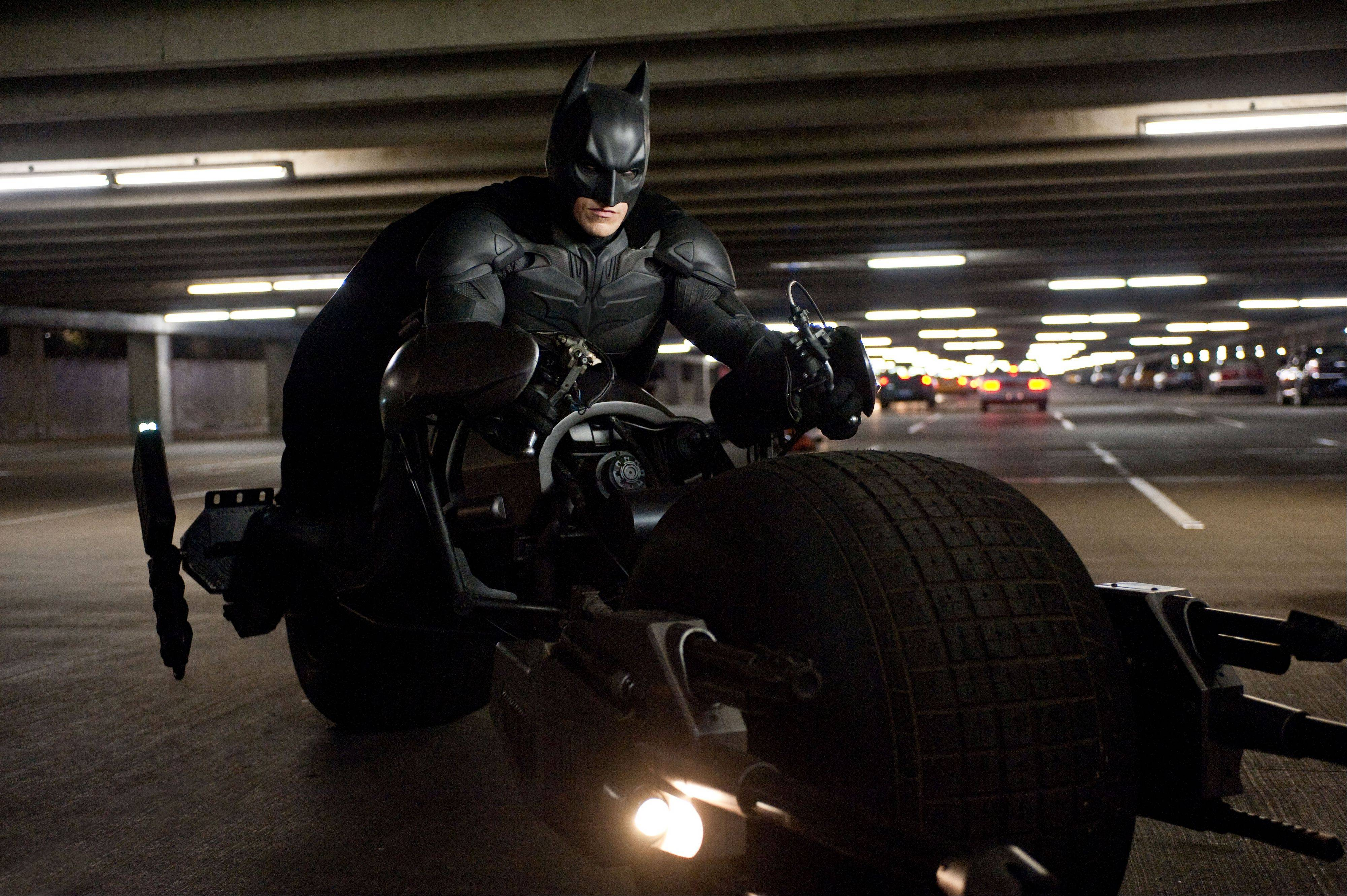 "Bruce Wayne (Christian Bale) must stop the destruction of Gotham City in ""The Dark Knight Rises."""