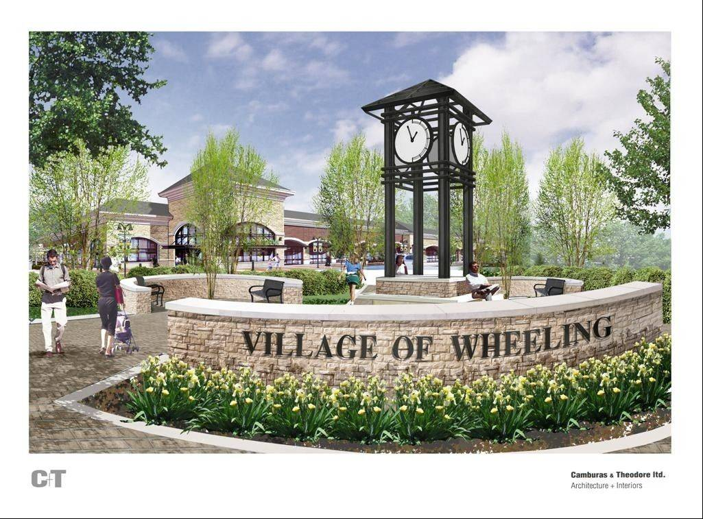 A proposal to build a clock tower plaza at the corner of Dundee and Milwaukee roads in Wheeling appears to be on again after village leaders reversed course on the $318,000 project and voted to approve it this week.