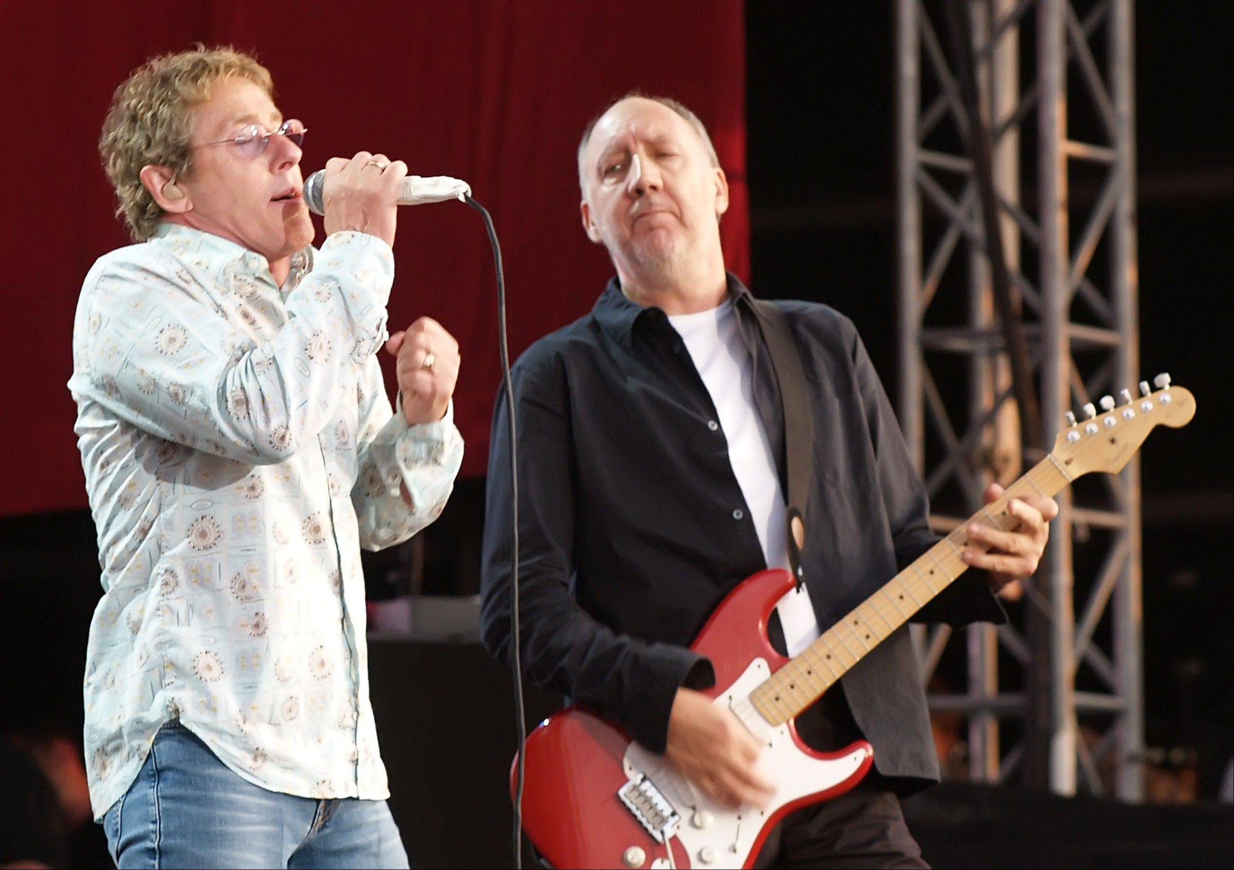 "The two surviving original members of the iconic rock band The Who, Roger Daltrey, left and Pete Townshend, are launching their first tour in four years and showcasing their 1973 classic rock opera ""Quadrophenia."""