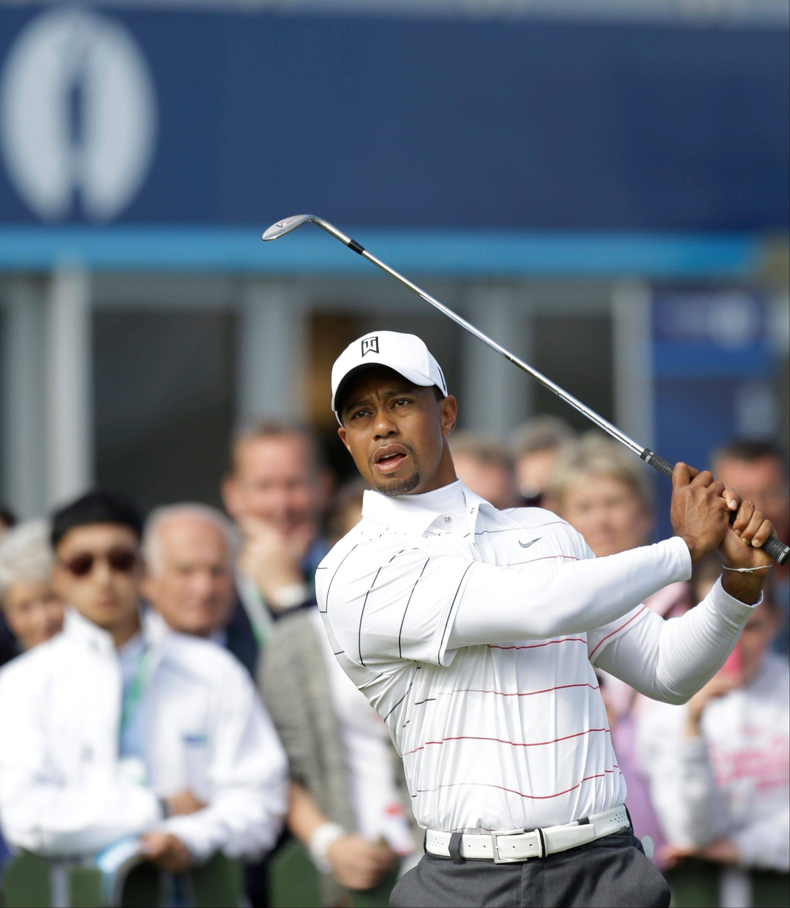 Tiger Woods won't be the only one using an iron off the tee when the British Open commences Thursday at Royal Lytham & St. Annes in England. A plethora of pot bunkers and the ever-present winds will put tee shots at a premium.