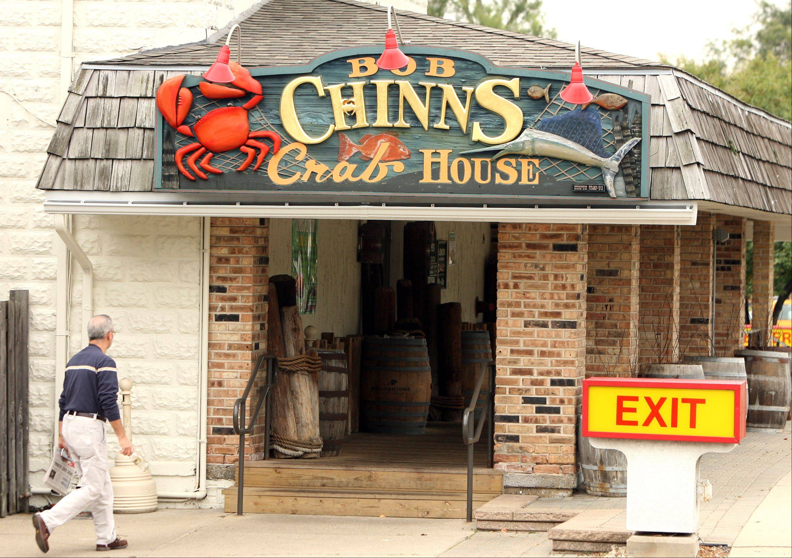 Bob Chinn's Crab House, on Milwaukee Avenue in Wheeling, has been named America's top-grossing restaurant.