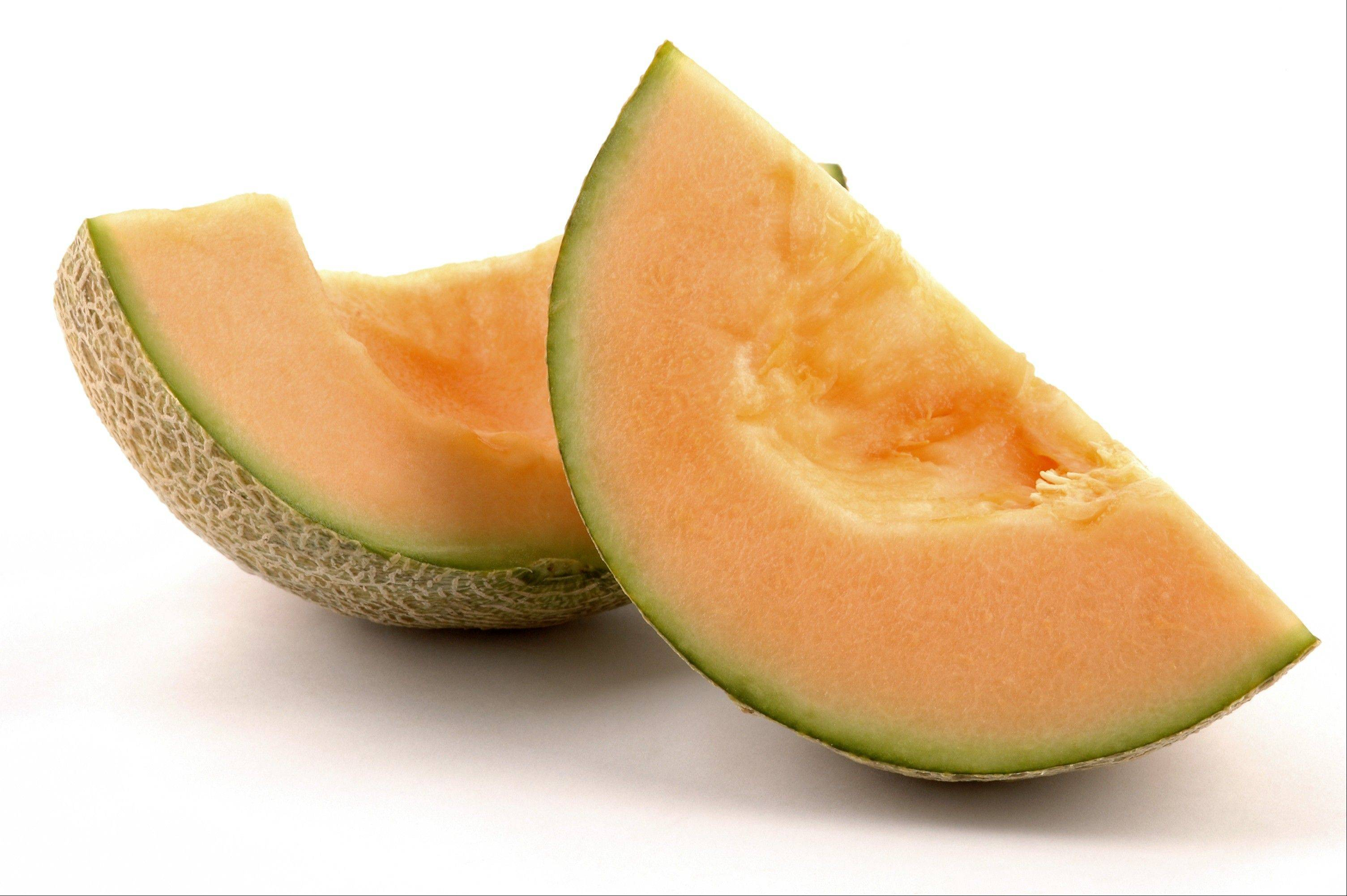 Cantaloupe is a good source of vitamin C as well as betacarotene.