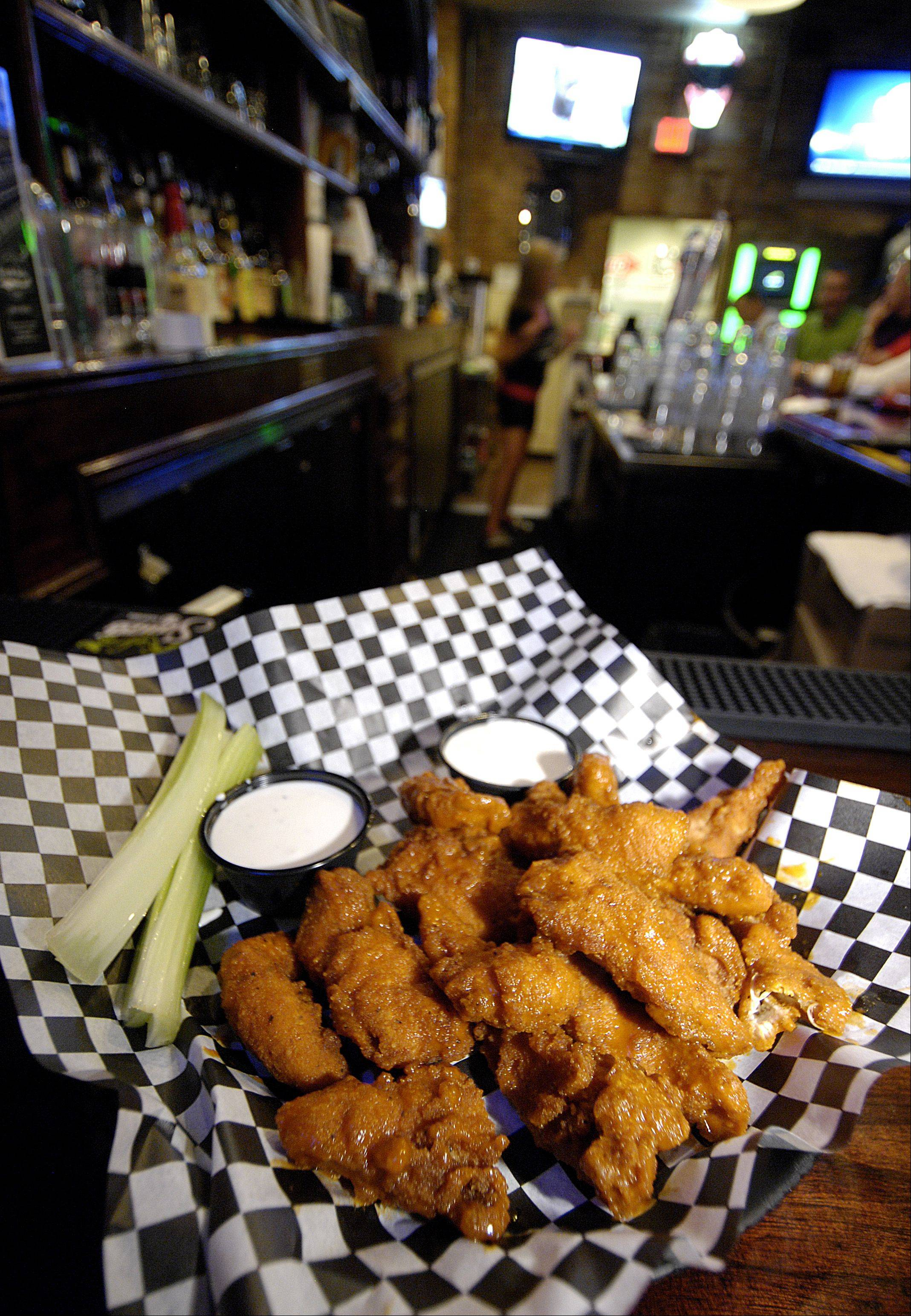 Hot wings should make the perfect snack for football season at North Side Sports Bar & Grill in Glen Ellyn.