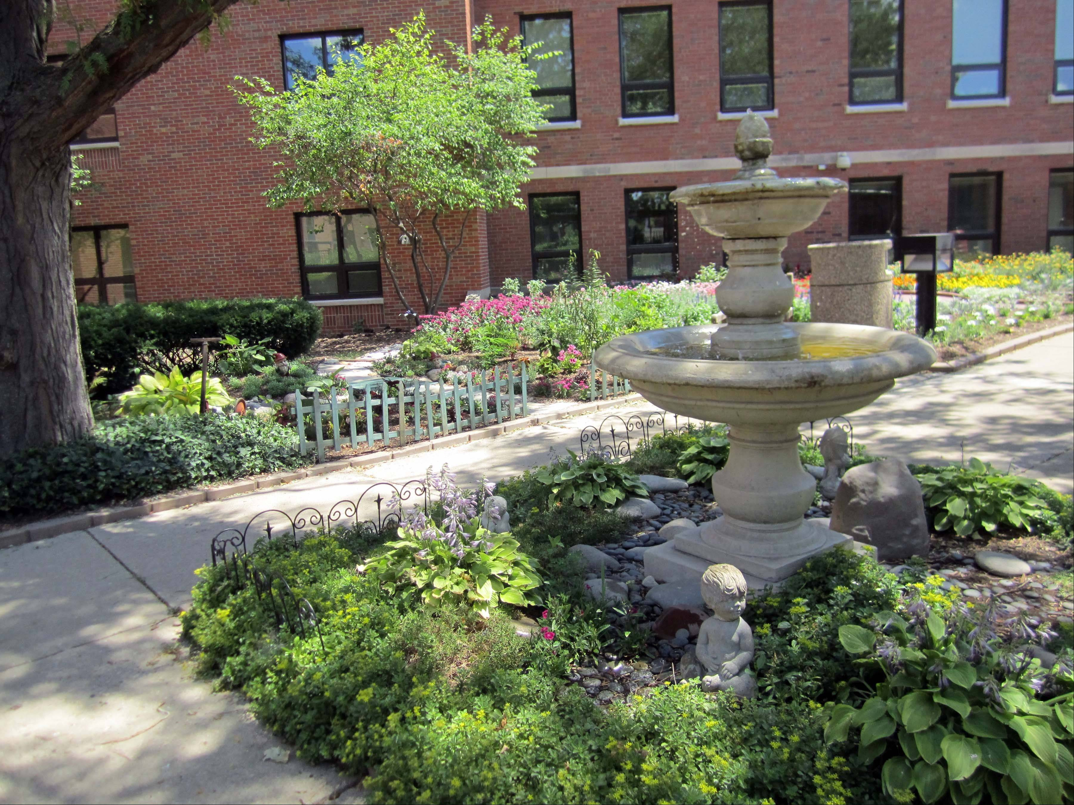 The DuPage County Convalescent Center will have a garden walk from 1 to 4 p.m. Sunday, July 22, to encourage the community to see residents' gardens.
