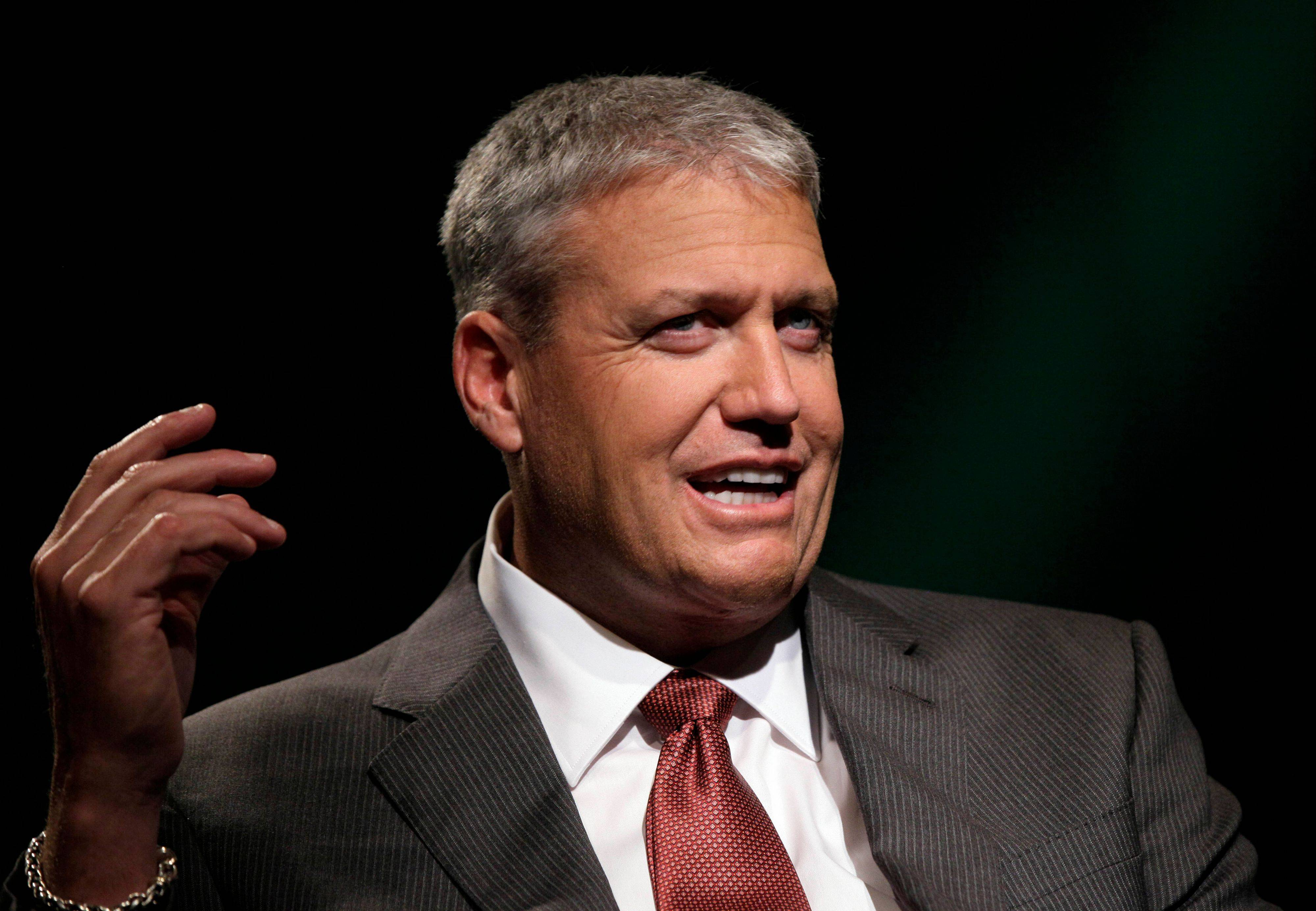 New York Jets football coach Rex Ryan, a Stevenson High School grad, tells the Associated Press about his 105-pound weight loss and the lap-band surgery that helped him achieve it.