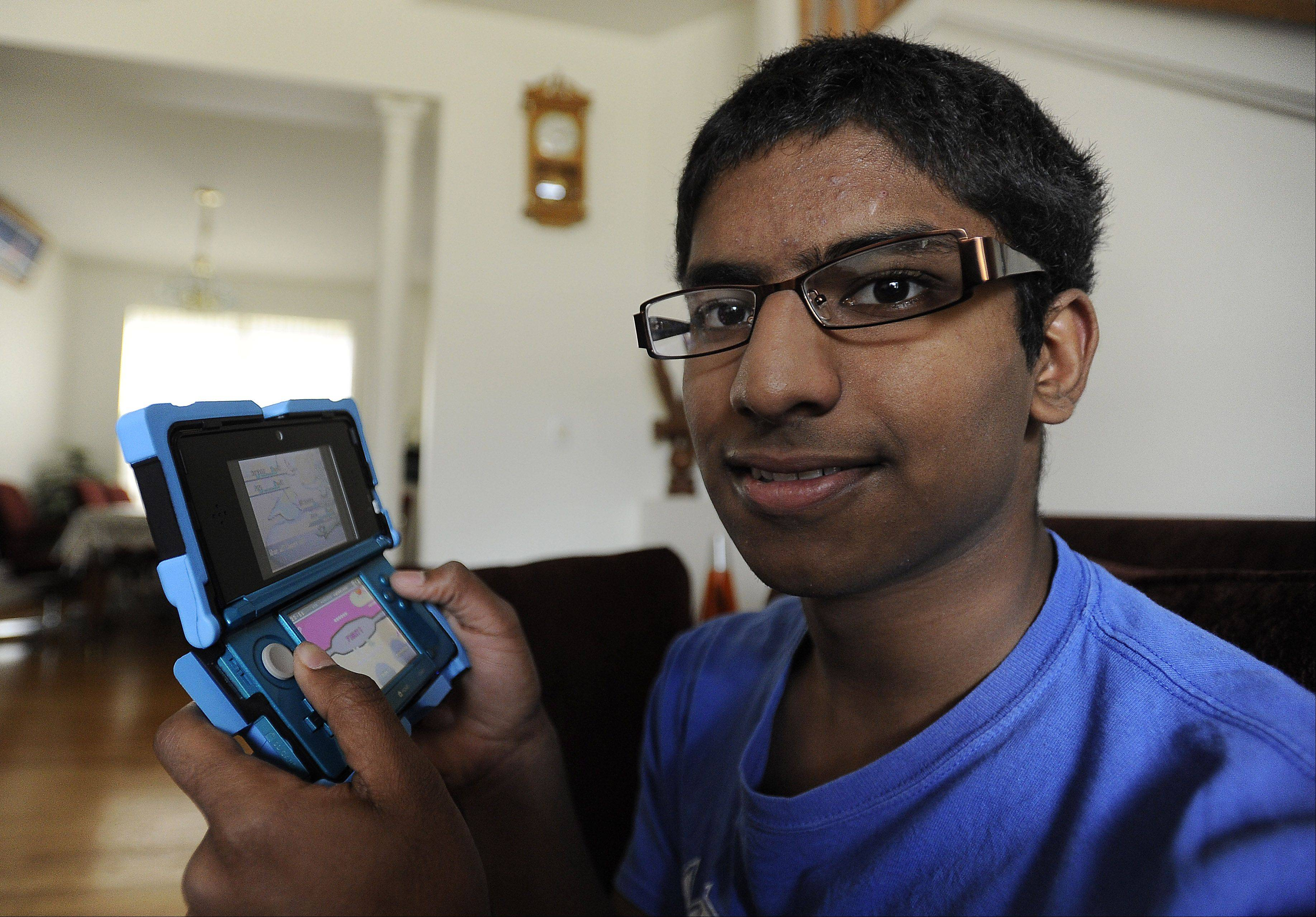 Manoj Sunny, 16, of Des Plaines is headed to Hawaii in August for the 2012 World Pokemon Championships. He is one of 36 Americans who will be representing the nation in the event.
