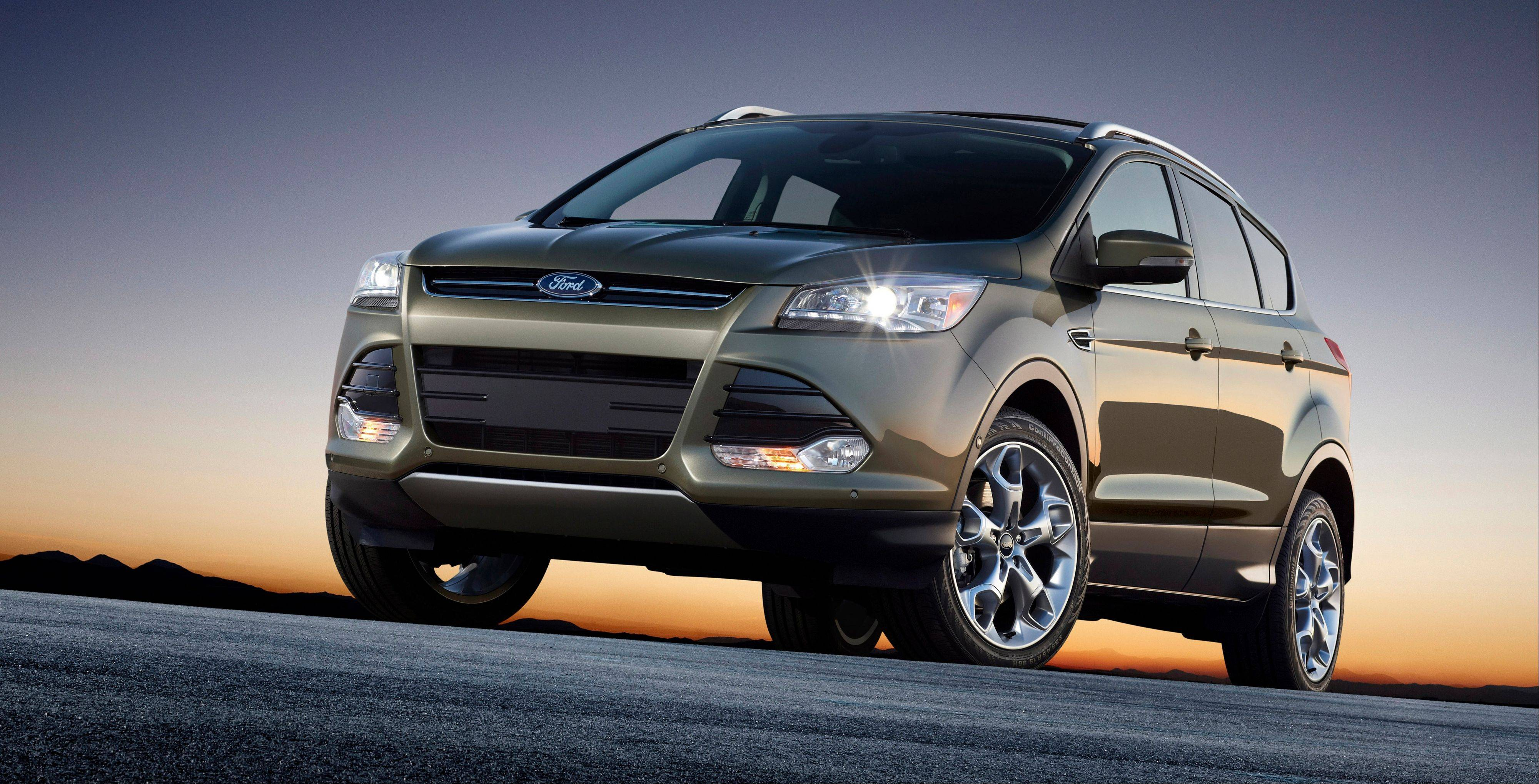 Associated Press The 2013 Ford Escape.