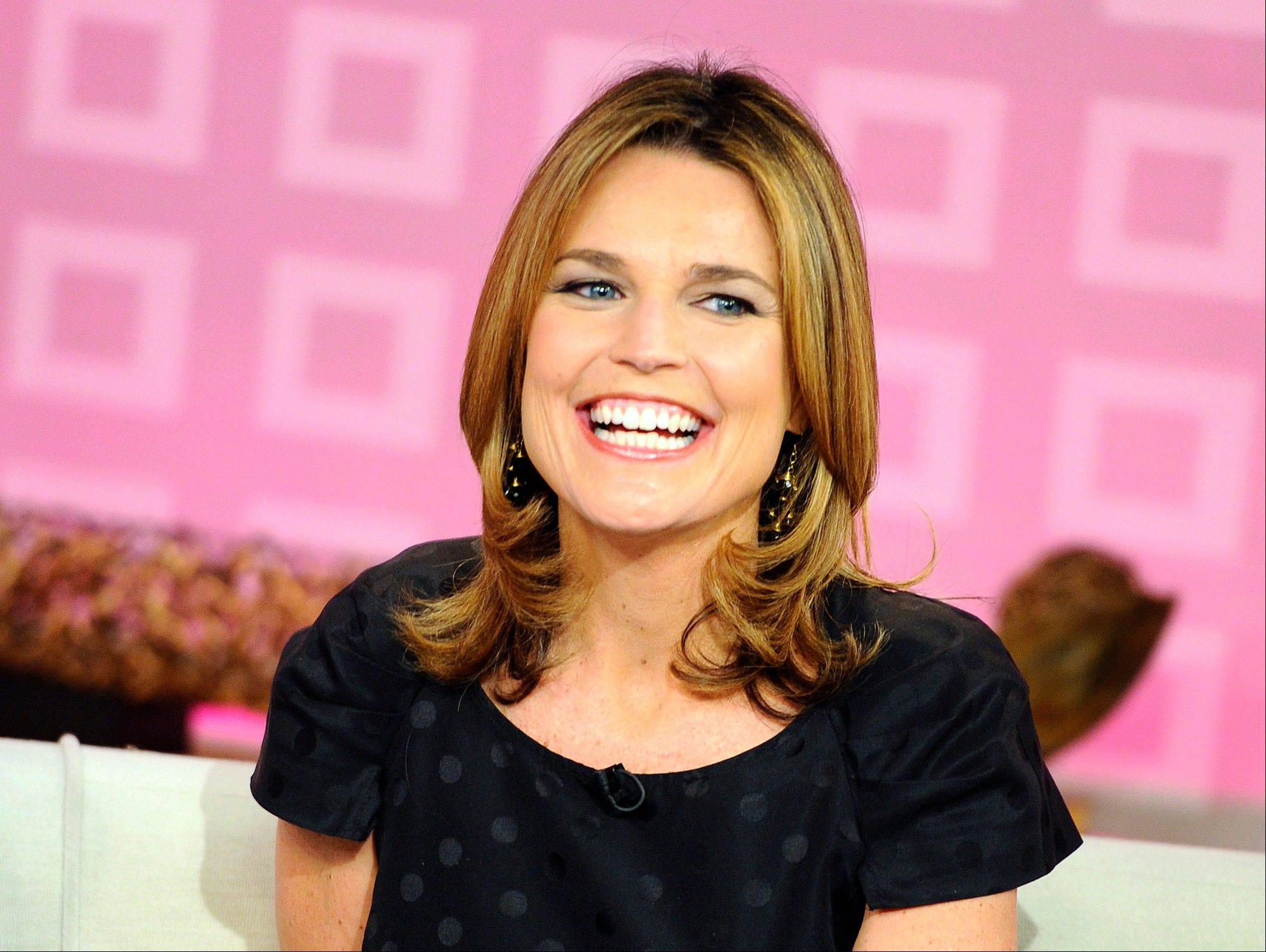 """Today"" show co-host Savannah Guthrie appears on the set during a broadcast, in New York. Nielsen says NBC's ""Today"" was beaten last week by ABC archrival ""Good Morning America"" by 357,000 viewers"