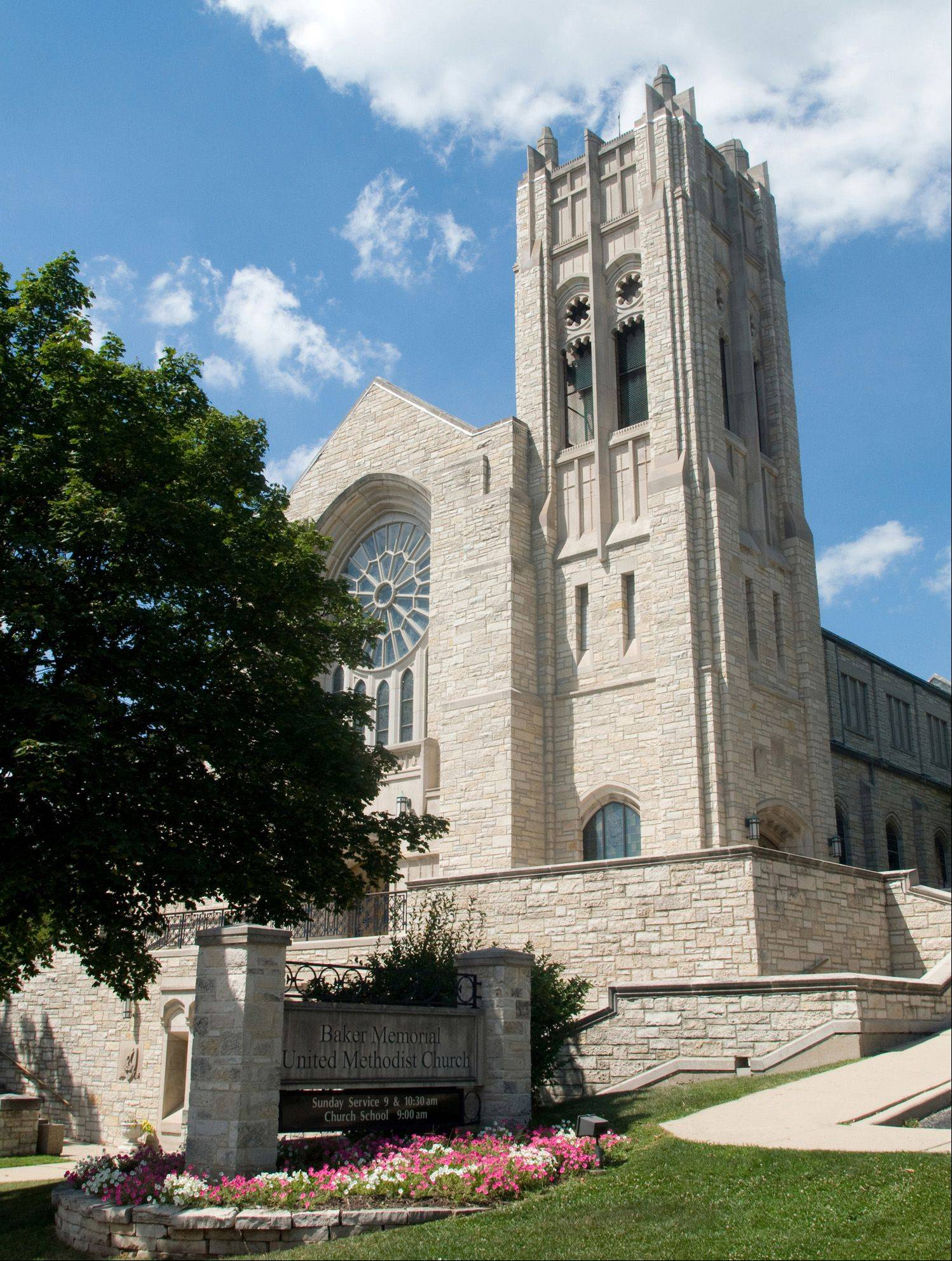 Baker Memorial United Methodist Church is celebrating its 175th anniversary in St. Charles this year and will have an open house and will host an open house Sunday, July 29.
