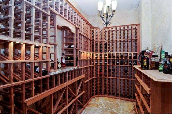 A large wine cellar, along with a theater room and large recreation room, can be found in the walk-out basement.
