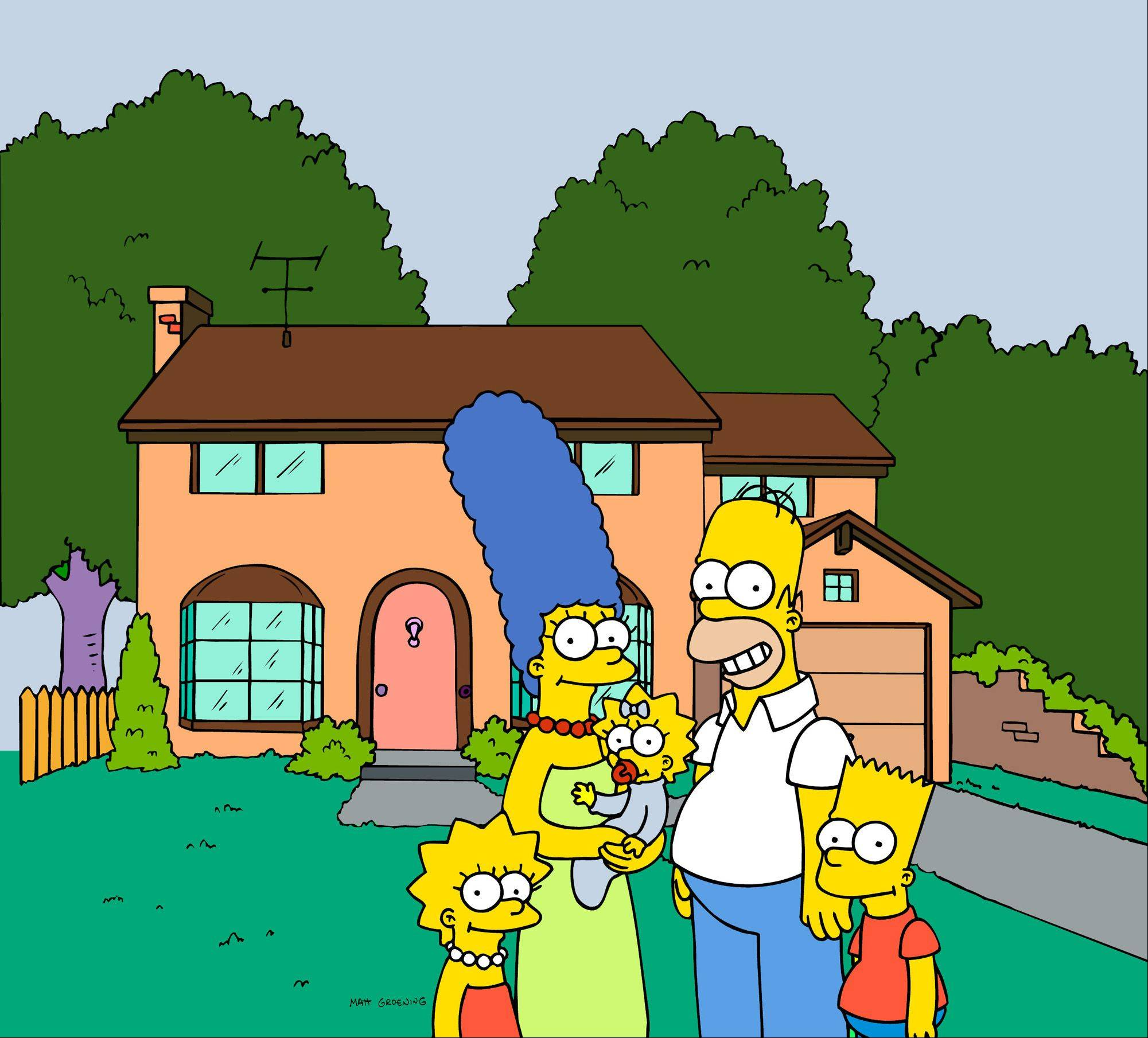 A businessman in Springfield, Ore., says it�s time for the city to embrace its most famous fictional residents and create a shopping district with a �Simpsons� theme.