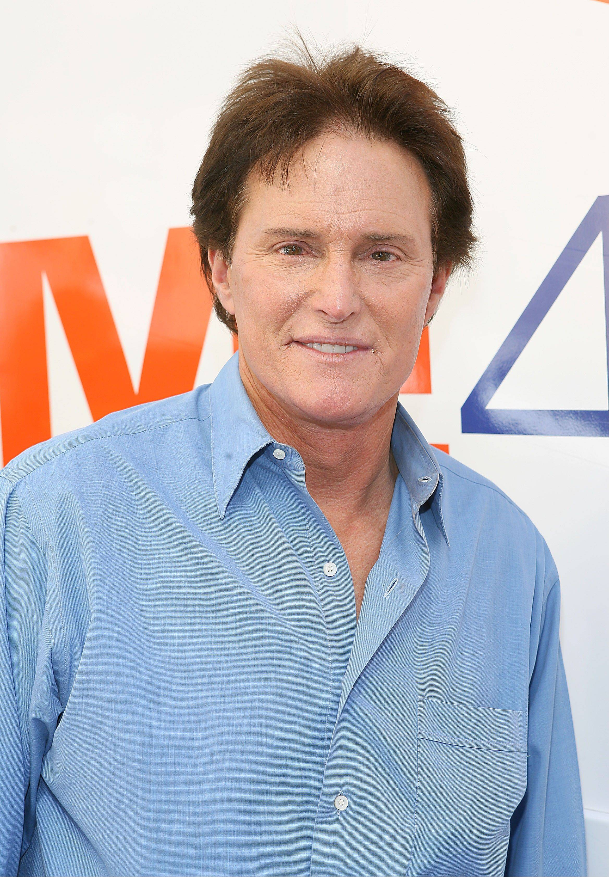 This Feb. 16, 2010 file photo originally released by www.Drive4COPD.com shows 1976 Olympic gold medalist Bruce Jenner during an event to raise awareness about the risks of chronic obstructive pulmonary disease (COPD) at the DRIVE4COPD �Race for the Missing Millions� pit stop in Los Angeles. �Keeping Up With the Kardashians� family patriarch Bruce Jenner, the 1976 decathlon gold medalist, will head to London to be part of the E! team there later this month.