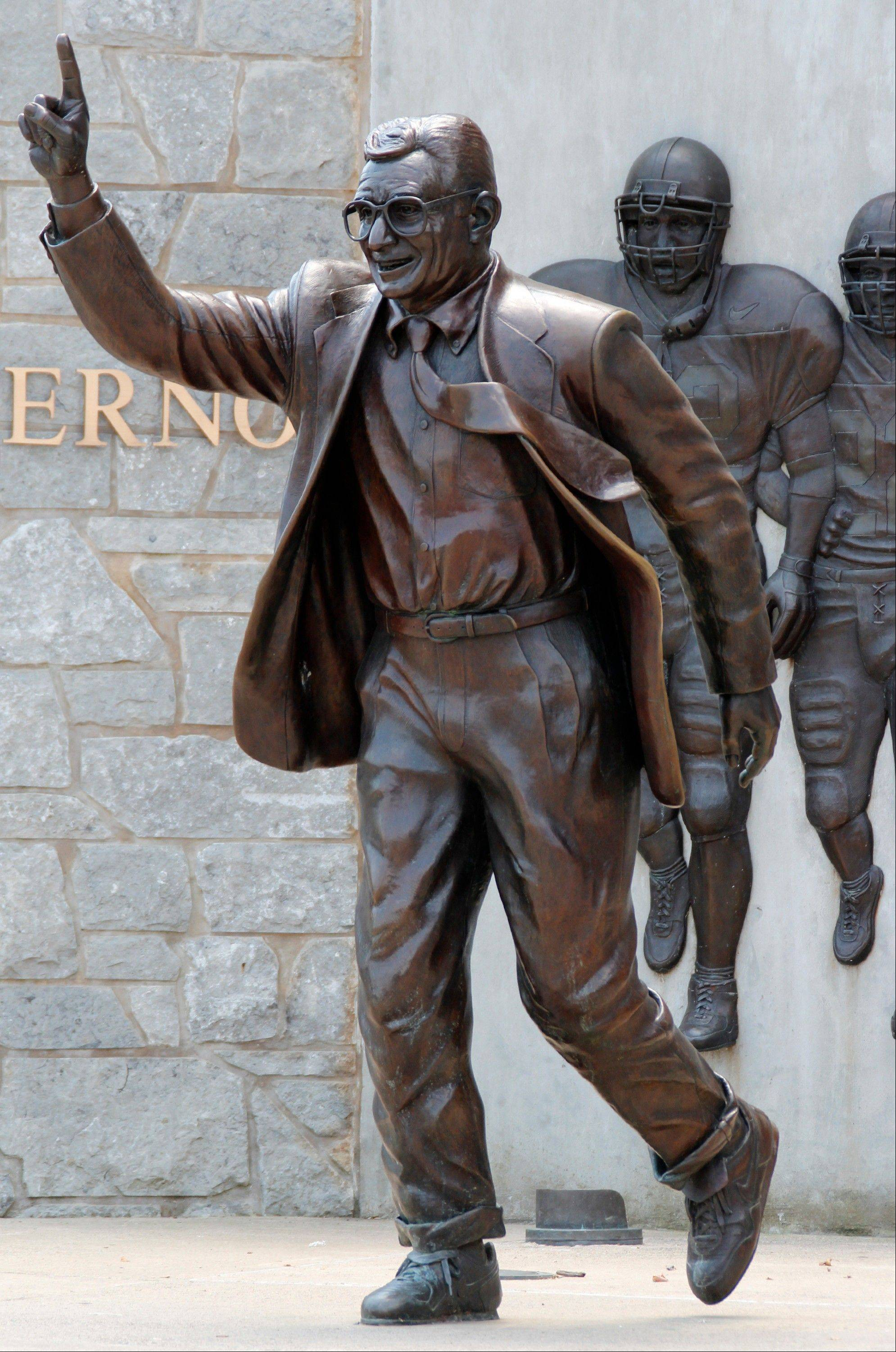 Penn State will remove the statue of the late football coach Joe Paterno outside Beaver Stadium following a report that showed he helped cover up child sex-abuse allegations against former assistant Jerry Sandusky.