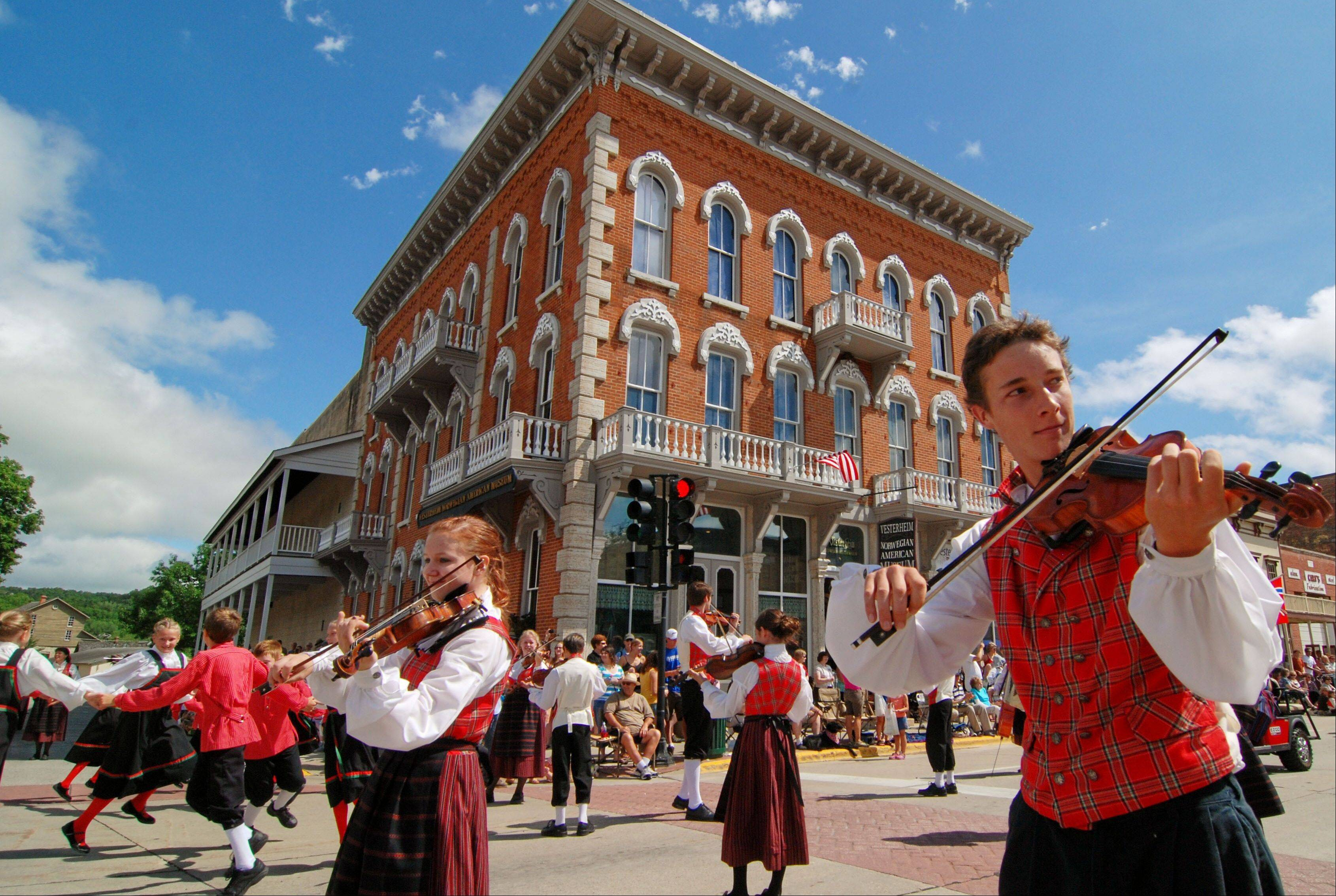 The 46th annual Nordic Fest takes place in Decorah, Iowa, Thursday through Saturday, July 26-28.