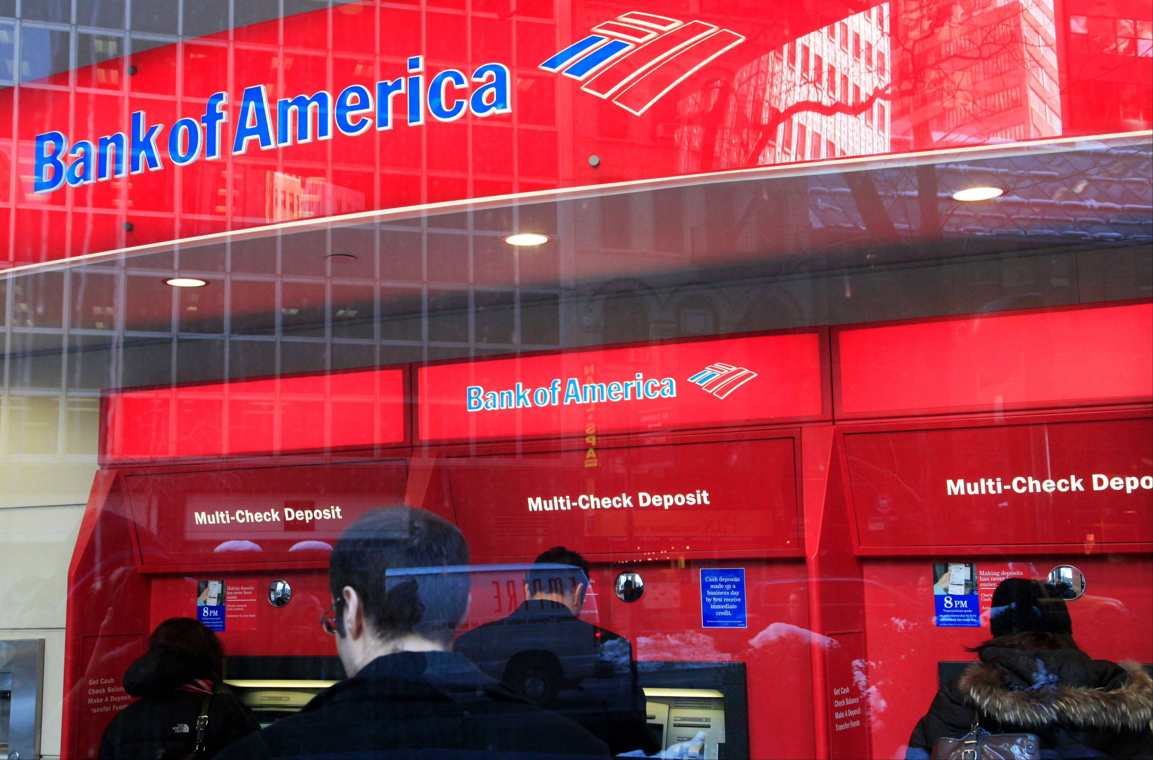 Bank of America Corp., the lender targeting $8 billion in expense cuts, reduced its automated teller network almost 9 percent this year by yanking most of the devices deployed at U.S. gas stations and malls.