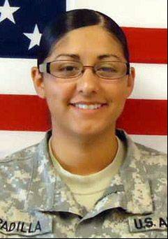 Maritza Padilla-Gomez, an Army specialist and former Round Lake Beach resident, who was killed July 13 in a traffic accident in Georgia.