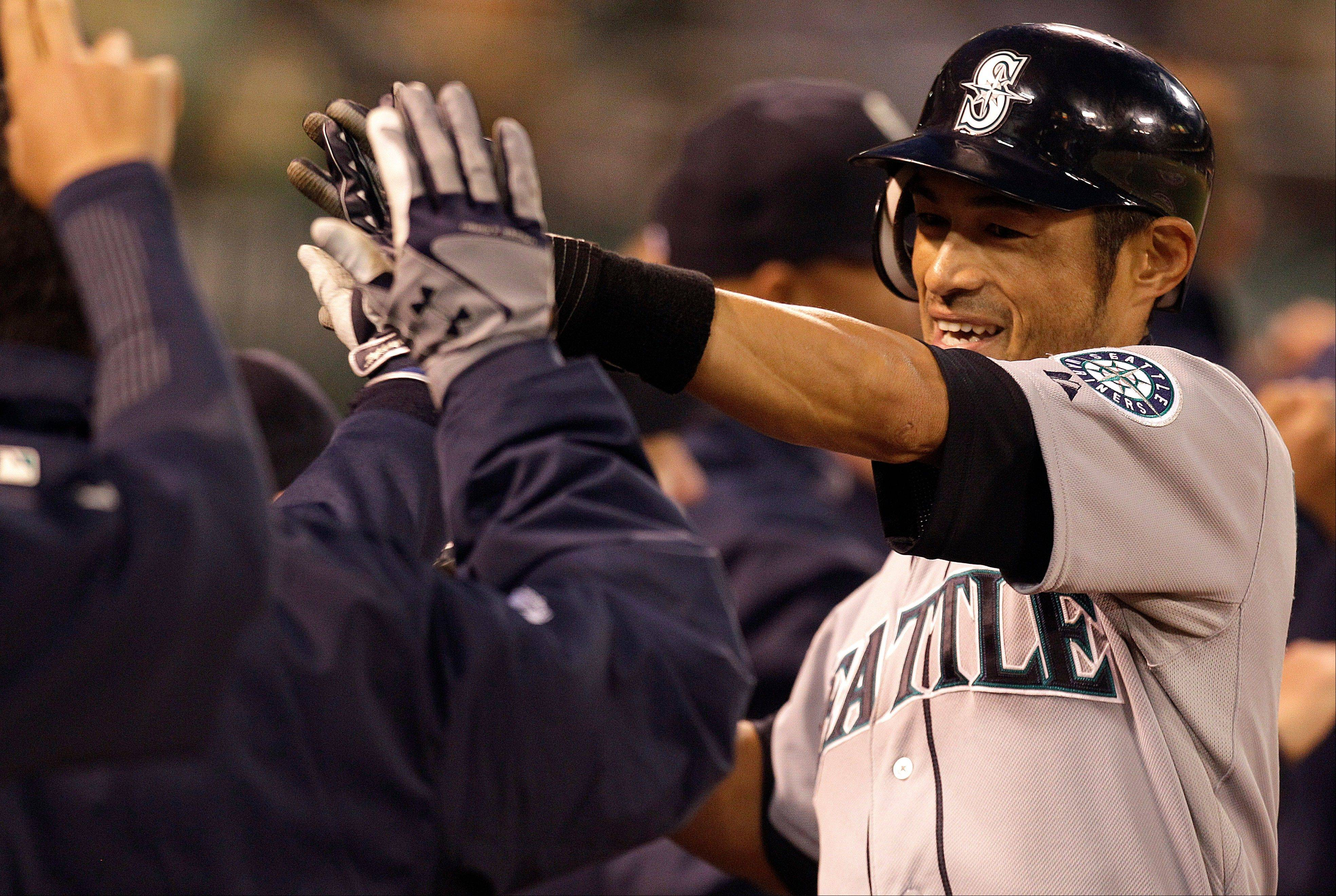 Mariners outfielder Ichiro Suzuki has spent his entire major-league career in Seattle � until now.