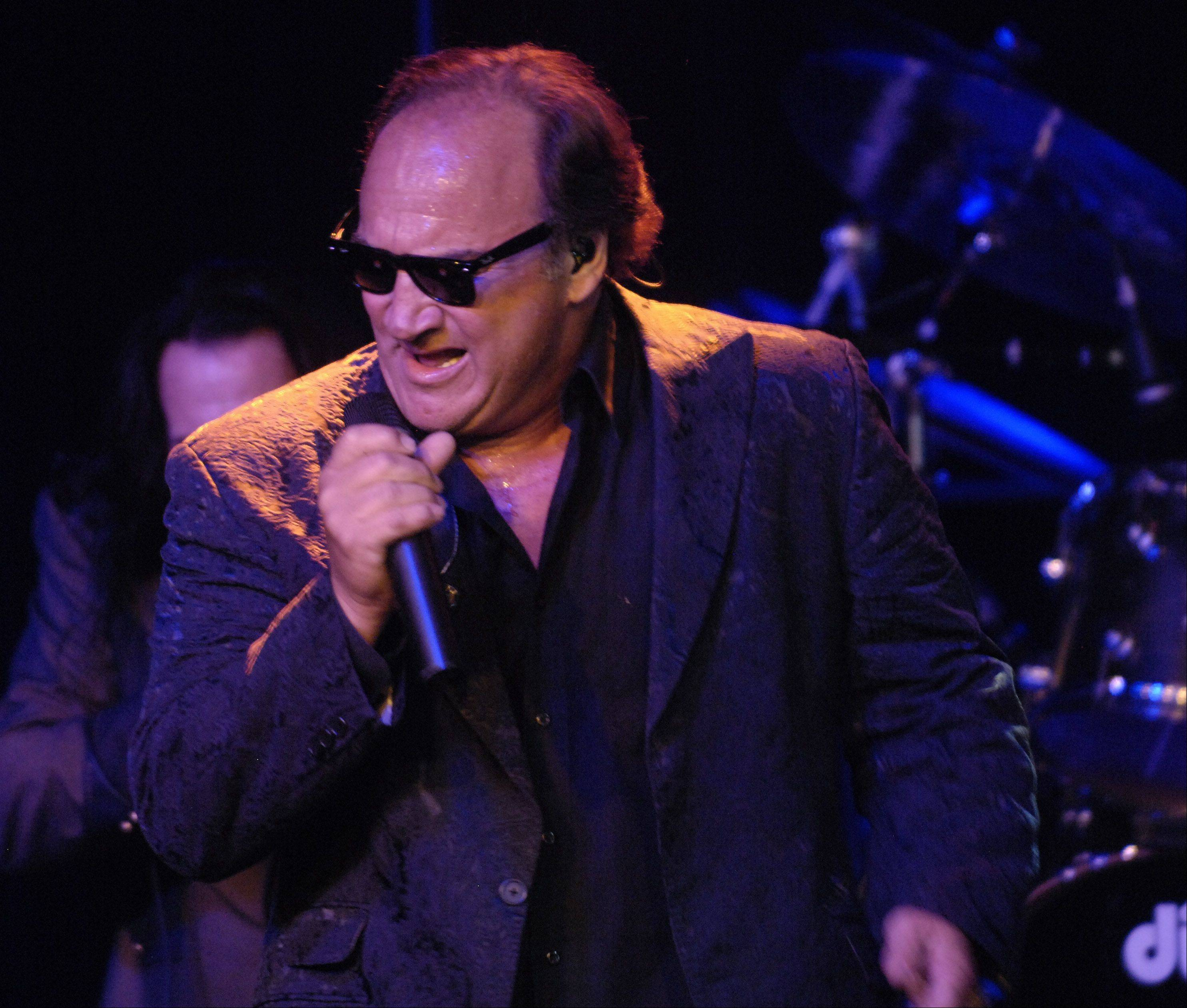 Jim Belushi and the Sacred Hearts performed at the Rivers Casino in Des Plaines Wednesday to mark the casino's anniversary.