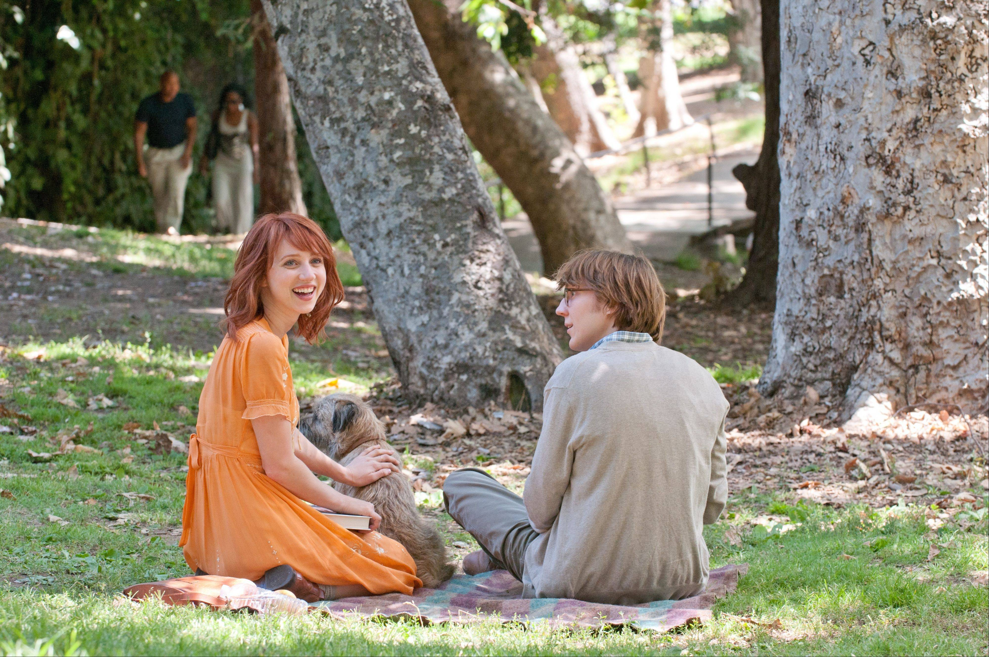 "A mysterious woman named Ruby (Zoe Kazan) steps out of the pages of a novel by a struggling writer named Calvin (Paul Dano) in the romance fantasy ""Ruby Sparks."""