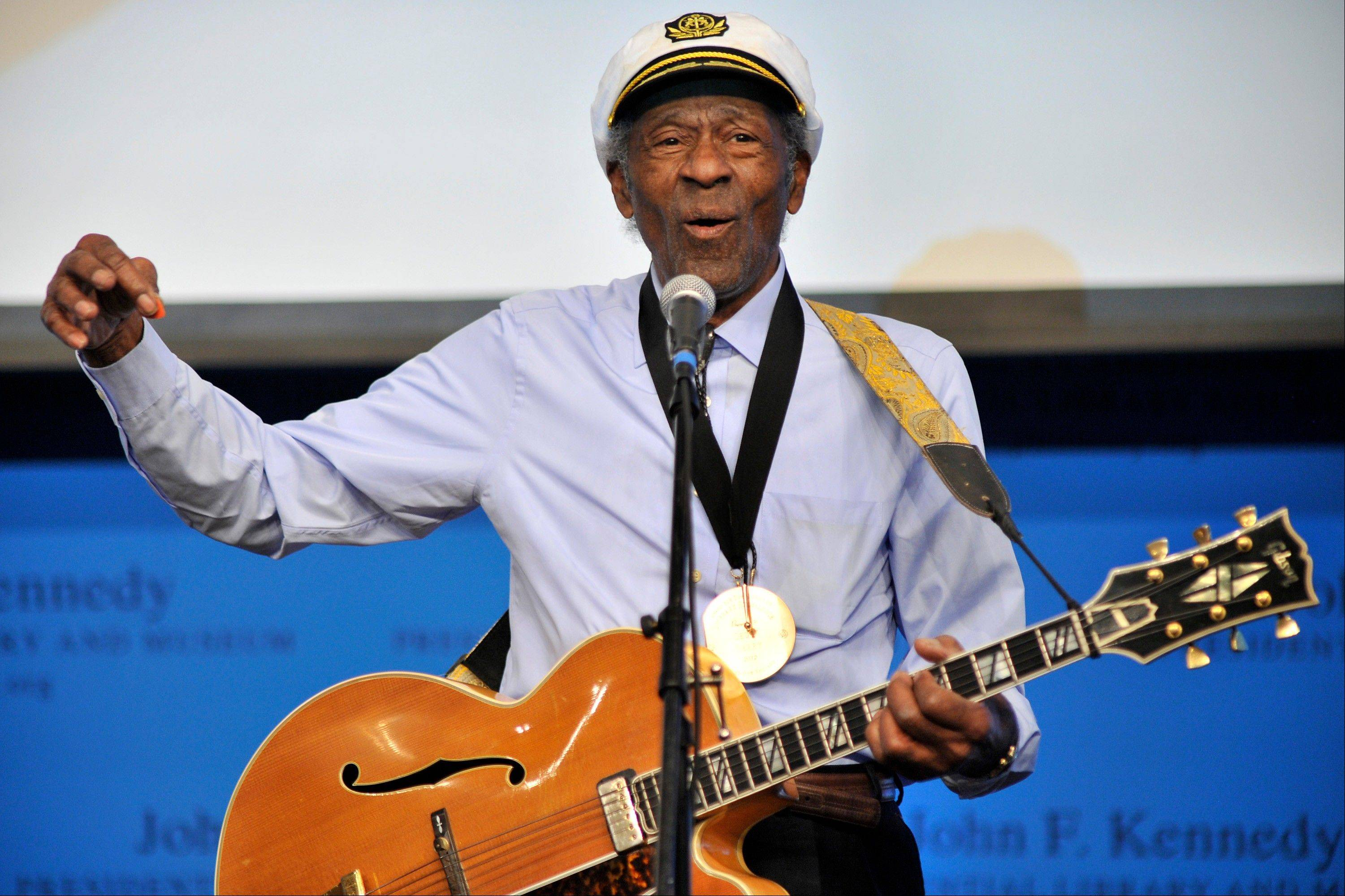Musician Chuck Berry will be honored this fall by the Rock and Roll Hall of Fame as part of its American Music Masters series.