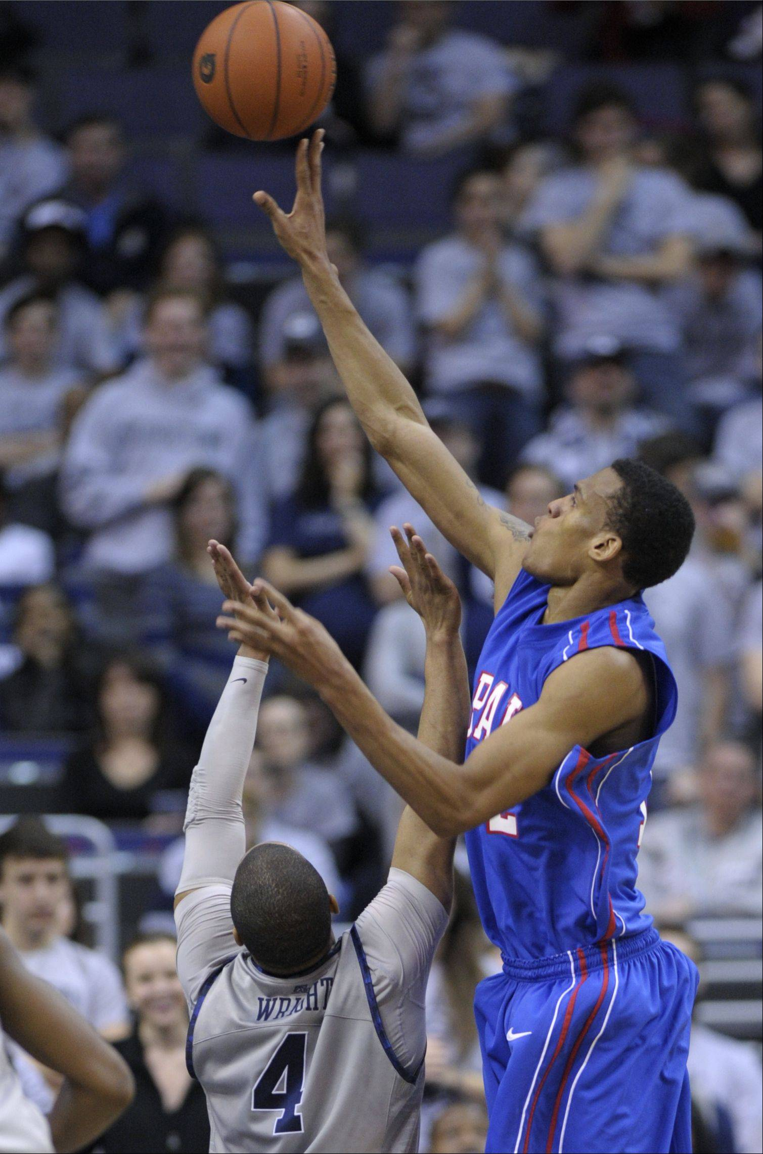DePaul returns its top four scorers from last season, including forward Cleveland Melvin, for the 2012-13 men's basketball season.