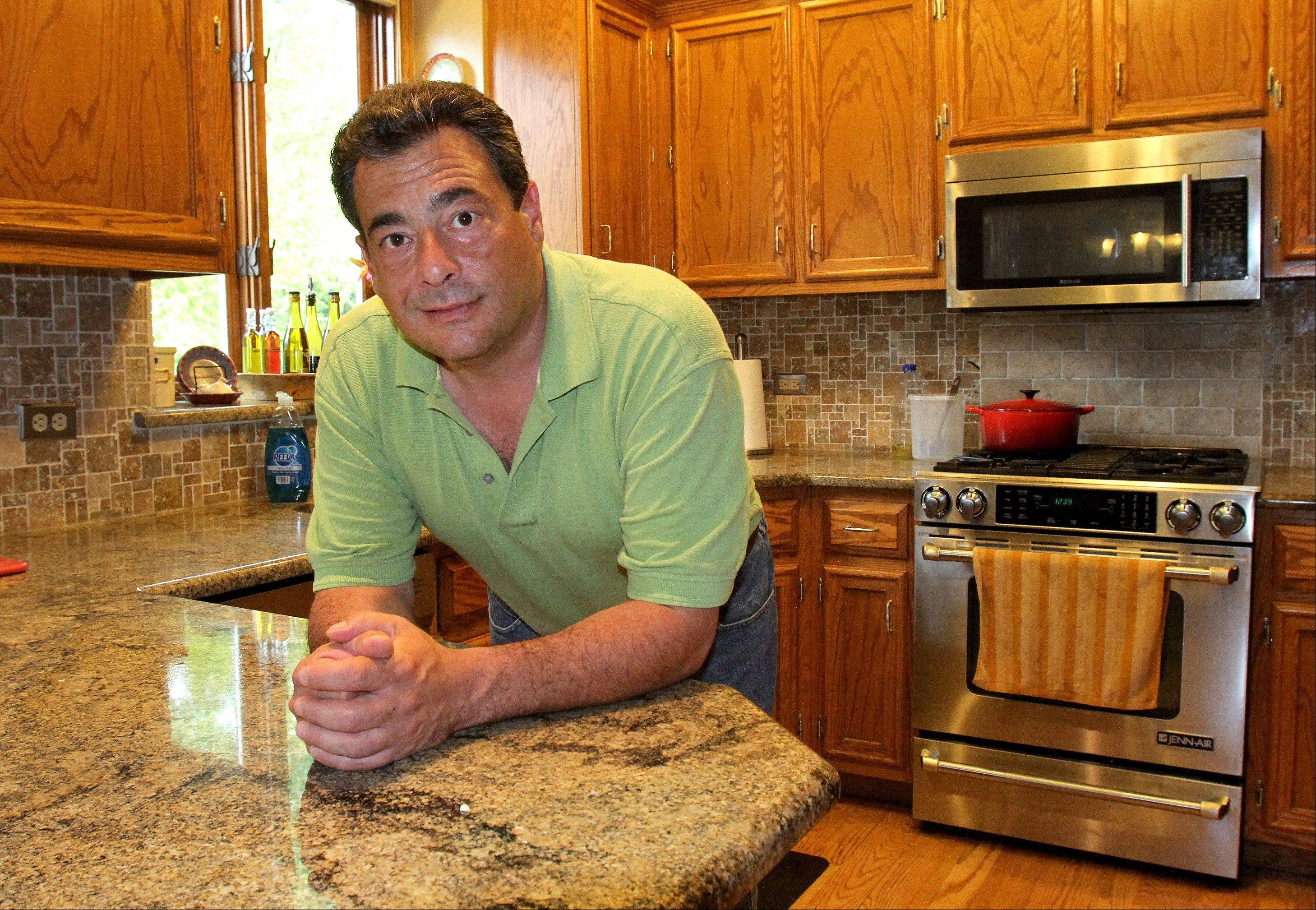 Growing up in an Italian family gave Tony Barone of Naperville a head start in the kitchen.