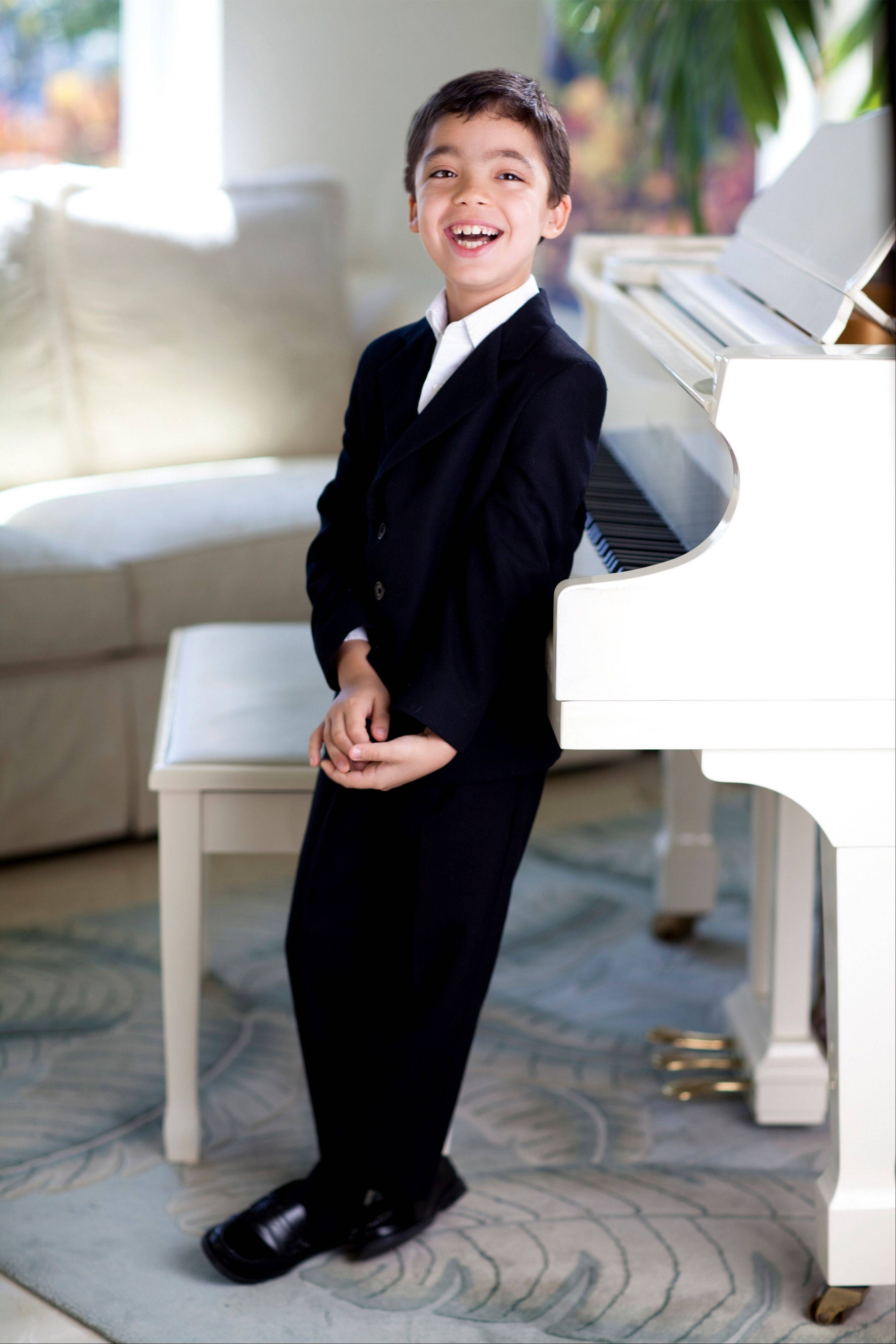 Child prodigy pianist Ethan Bortnick appears at the North Shore Center for the Performing Arts in Skokie.