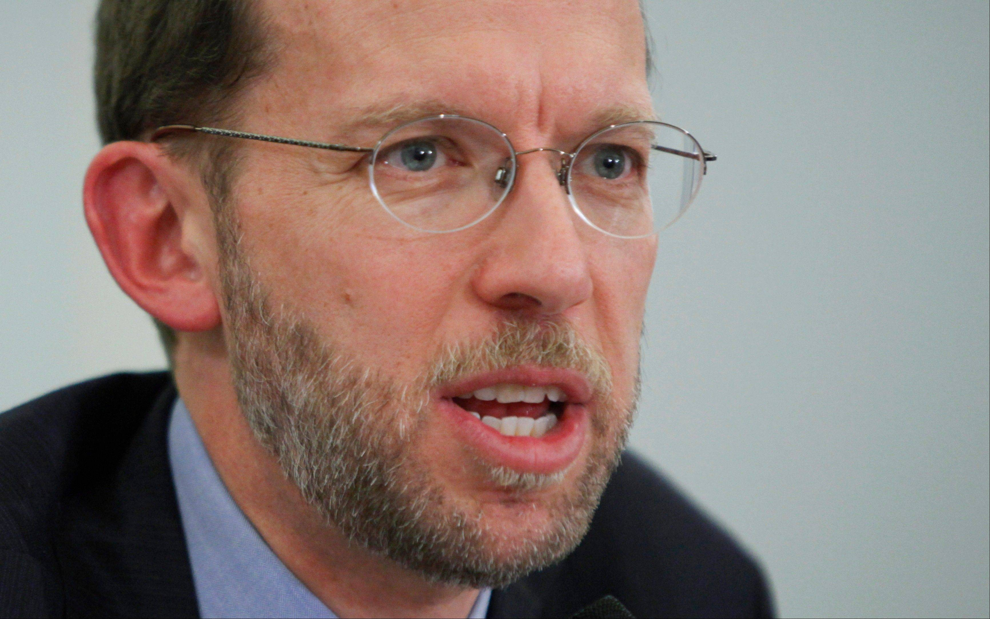 Congressional Budget Office Director Douglas Elmendorf testifies on Capitol Hill in Washington last January.The nonpartisan budget arm of Congress has released its findings on the effects of the health care reform law, the first in-depth look at the law since the Supreme Court ruled it constitutional.