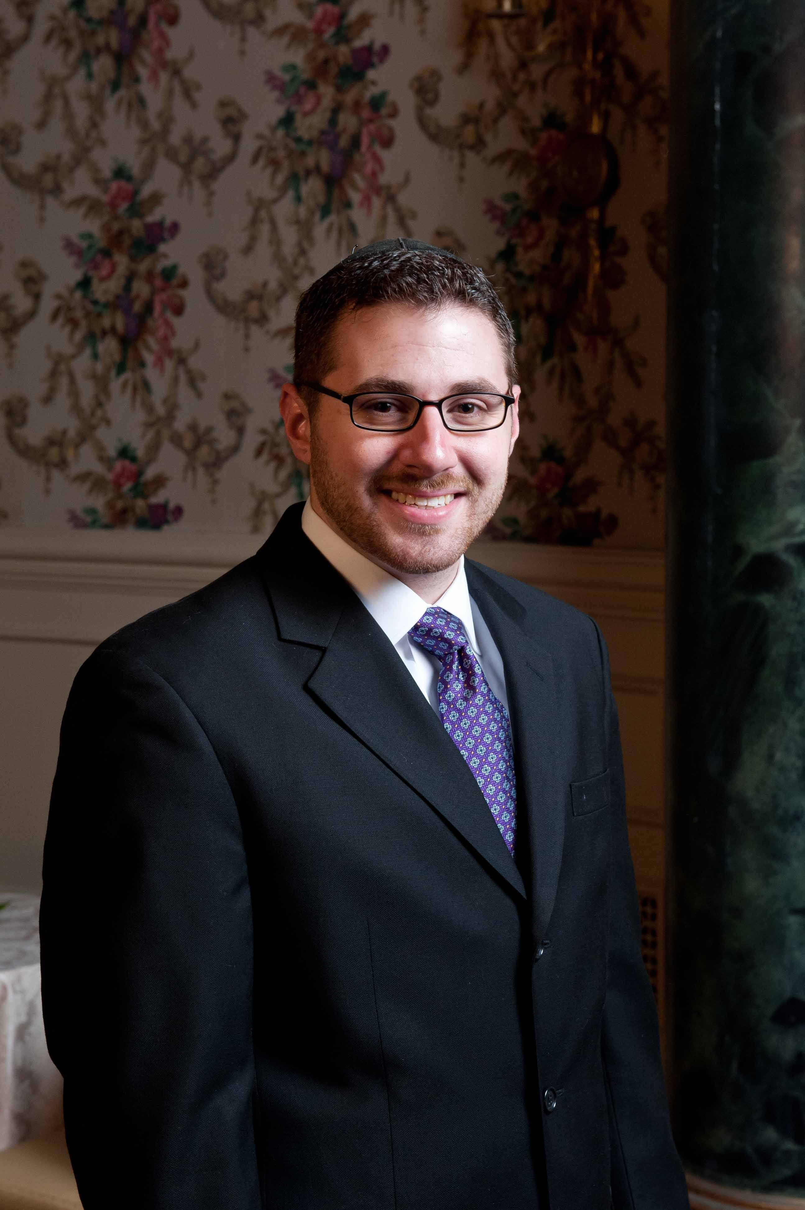 Rabbi Aaron Braun is the spiritual leader at Northbrook Community Synagogue
