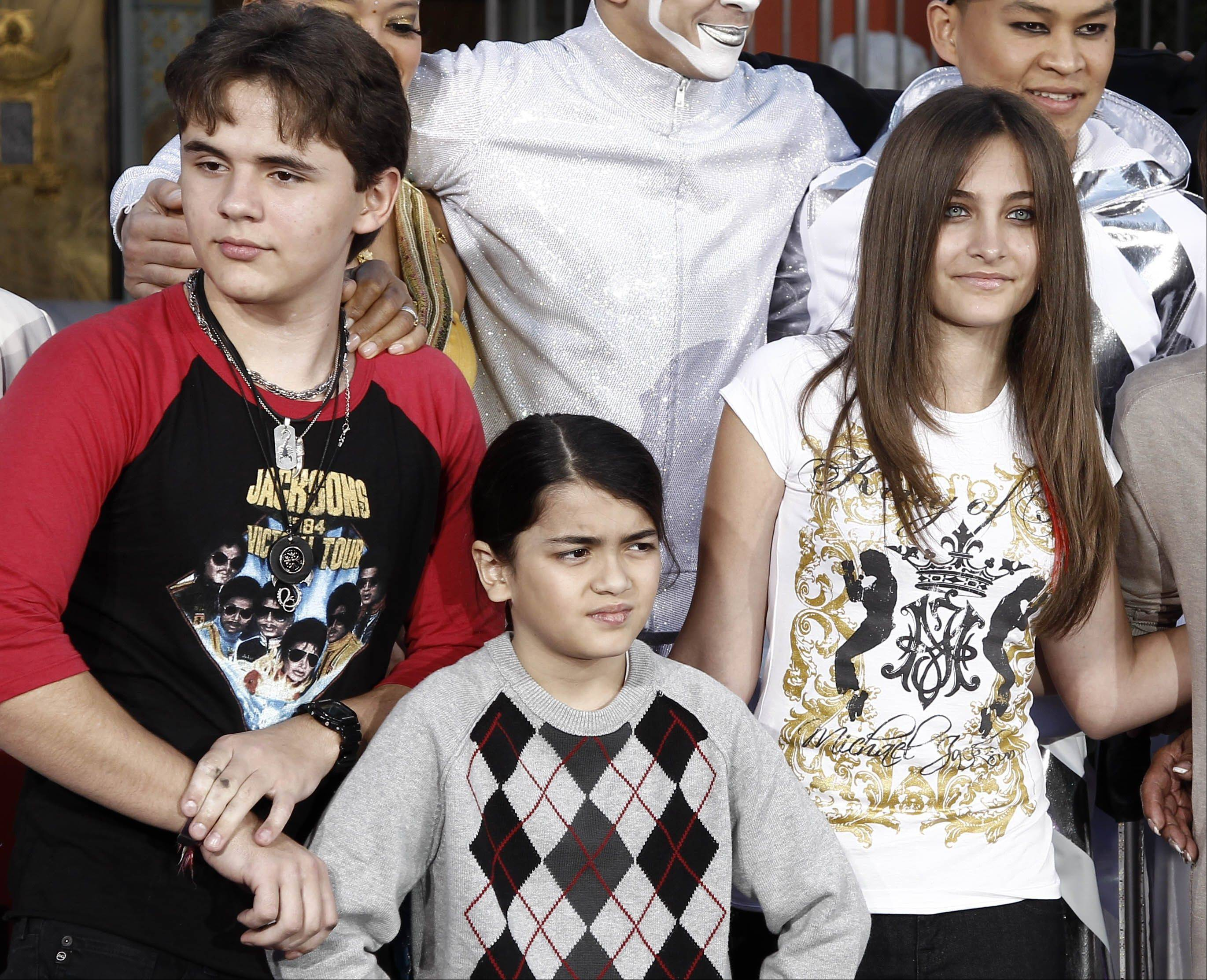 The executors of Michael Jackson�s estate say they are concerned about the welfare of the singer�s mother and his three children, Prince Jackson, left, Blanket Jackson and Paris Jackson.
