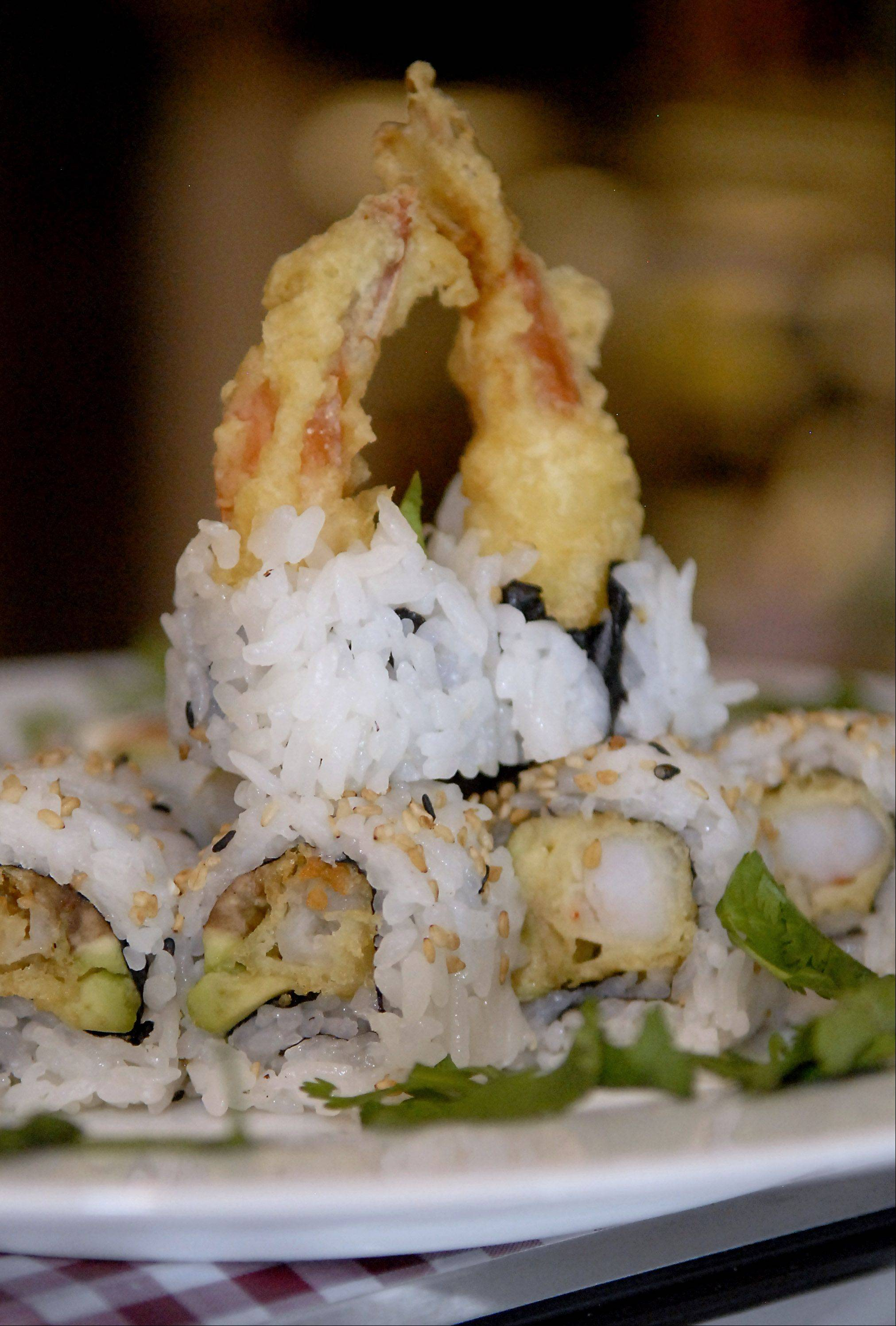 "Shrimp tempura rolls are ""simple but good,"" says @Bangkok Thai owner Sam Phounsavat."