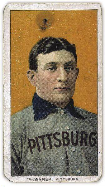 A rare T-206 Honus Wagner baseball card similar to this is part of federal indictment involving three suburban men and a Missouri man who are accused of rigging memorabilia auctions over the past decade.