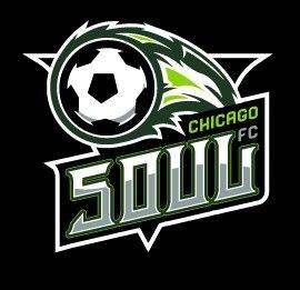 Here is the logo for the Chicago Soul, which will play its Major Indoor Soccer League games at Sears Centre Arena in Hoffman Estates this winter.