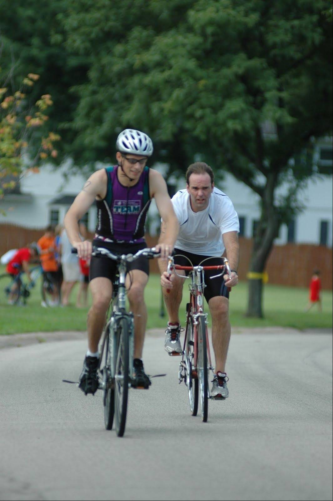 Come take the Elk Grove Challenge Saturday, Aug. 11, and test your biking, running and swimming skills.