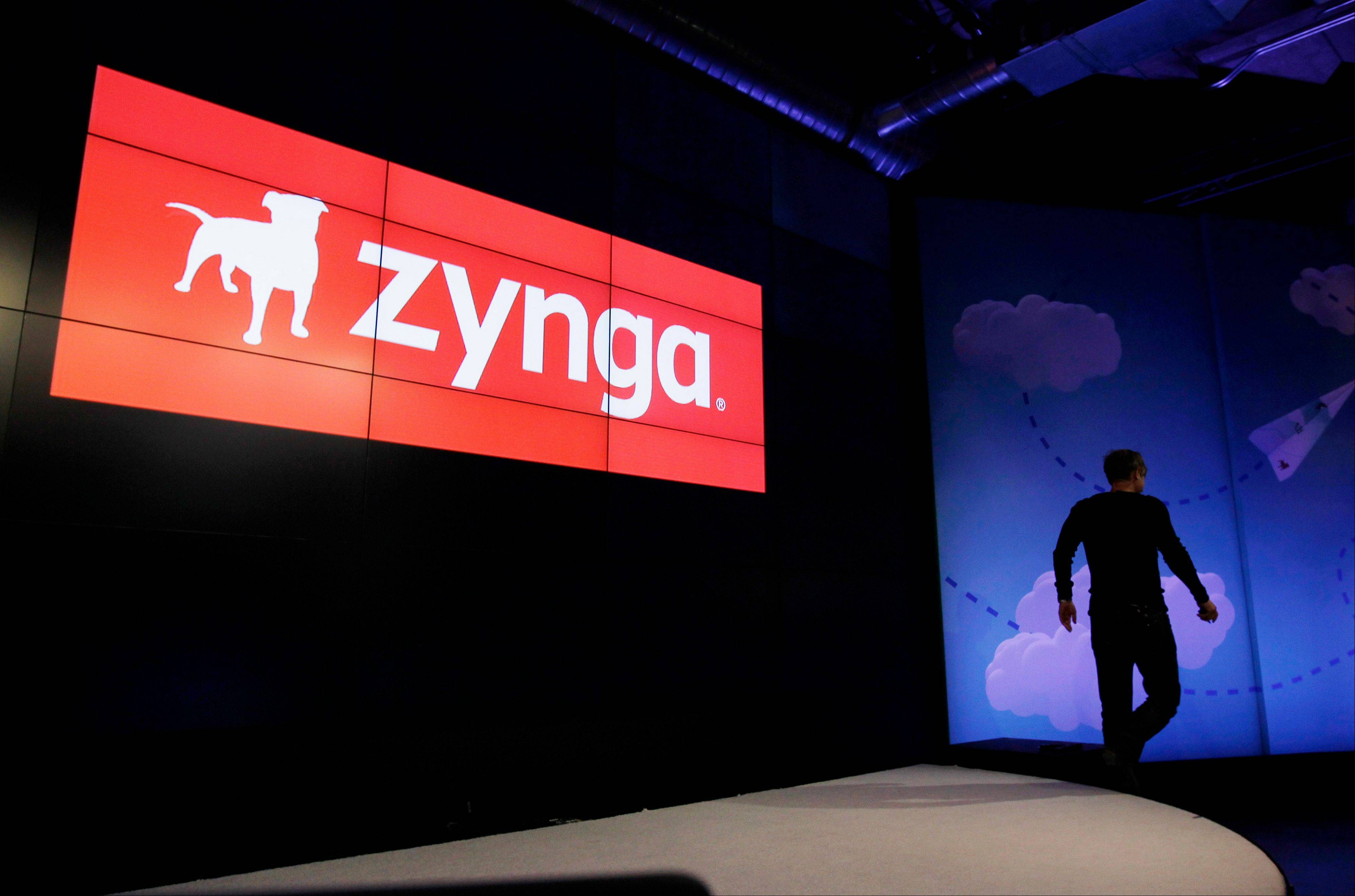 Associated Press Zynga�s stock is tanking after the online game maker reported a loss in the second quarter, with adjusted earnings and revenue below Wall Street�s already-low expectations.