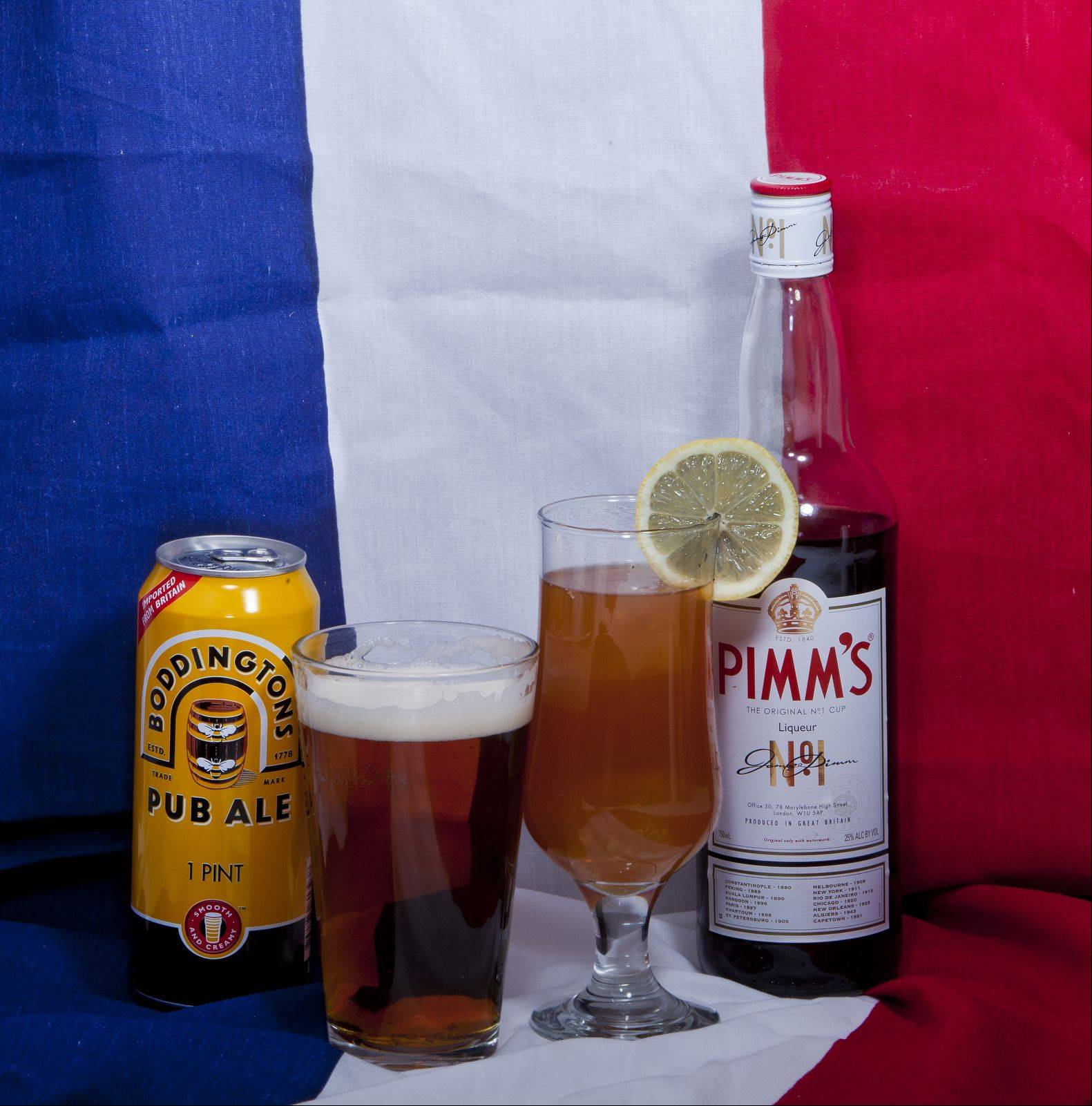 Between the easy availability of English brews and the push to popularize Pimm's No. 1, no one need go thirsty as they watch the Summer Olympics.