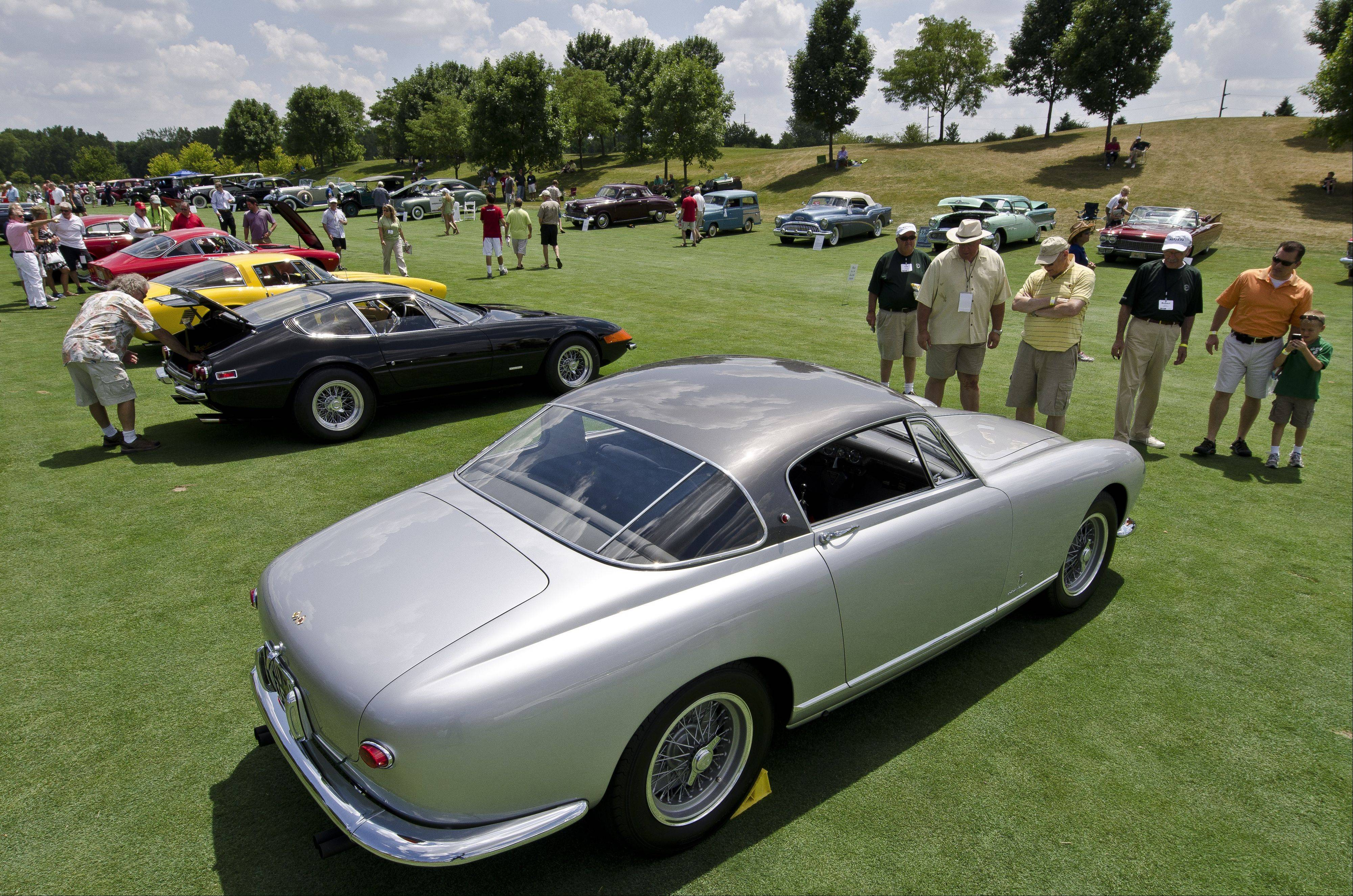 More than 130 collector cars, trucks and motorcycles were selected for this year�s Barrington Concours D�Elegance.