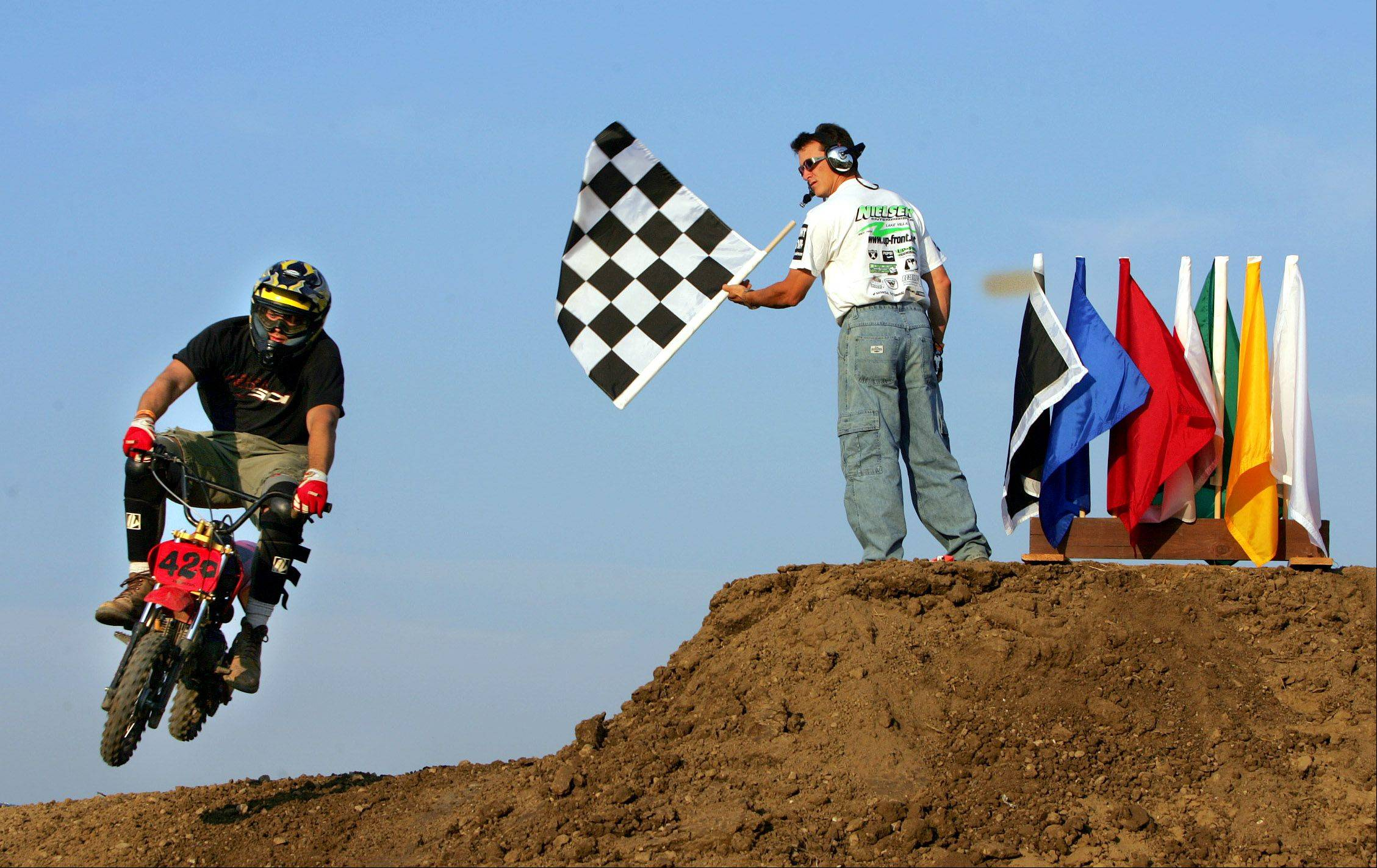 Champion motocross riders unleash high-flying skills at DuPage County Fair