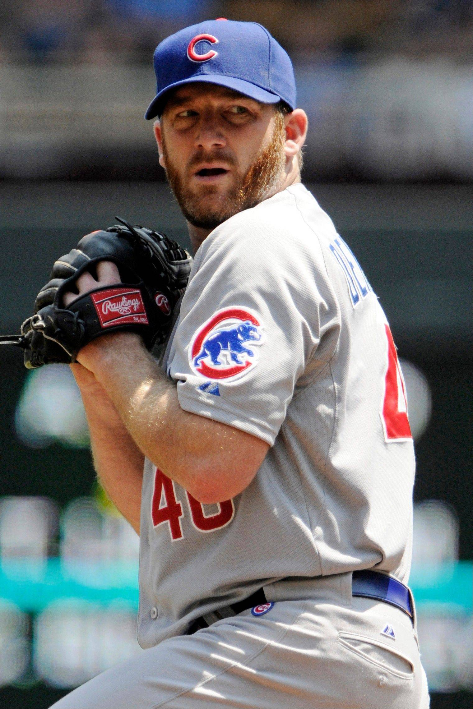 It could be an interesting weekend at Wrigley Field for Cubs starter Ryan Dempster.