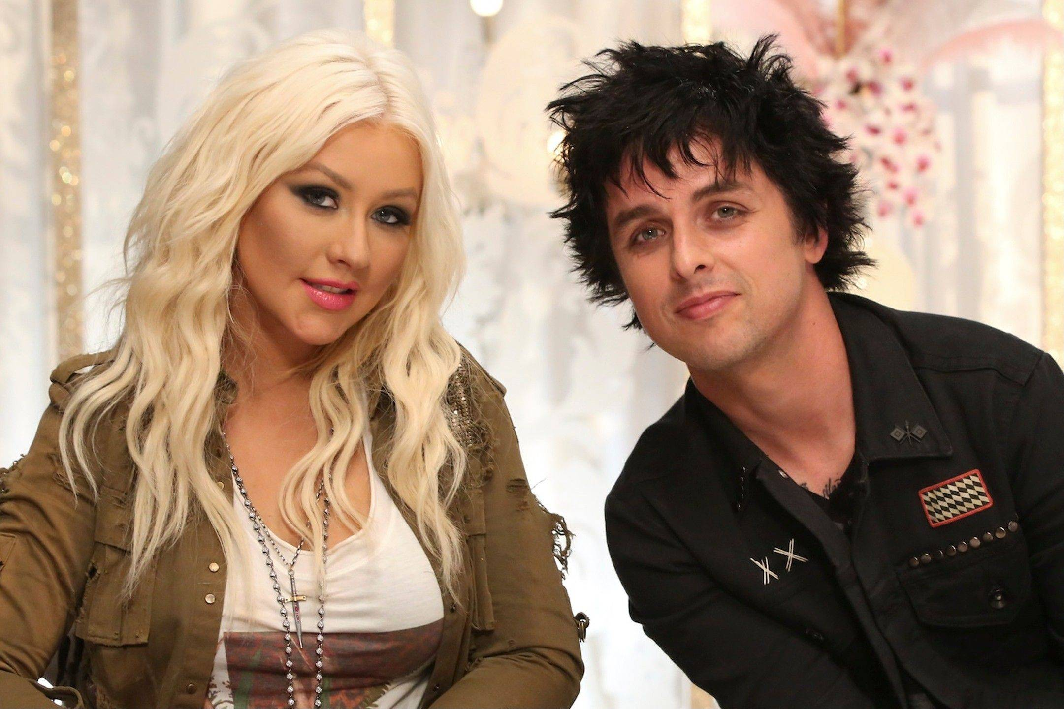 "Green Day's Billie Joe Armstrong is joining Christina Aguilera as her team's mentor this season on NBC's ""The Voice."""