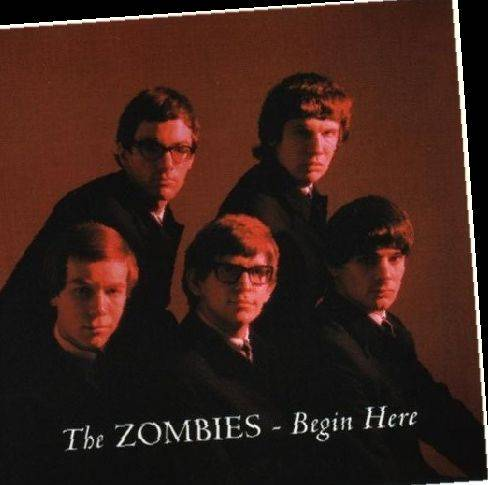 "The Zombies' 1965 debut record ""Begin Here"""