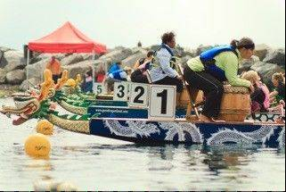 The first Chicago International Dragon Boat Festival takes place on Saturday, July 28, at Lake Arlington in Arlington Heights.
