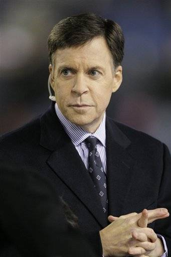 Sportscaster Bob Costas noted a controversy over honoring Israeli athletes killed at the Olympics 40 years ago during his coverage of the opening ceremony a the London Olympics, but stopped short of offering his own protest.