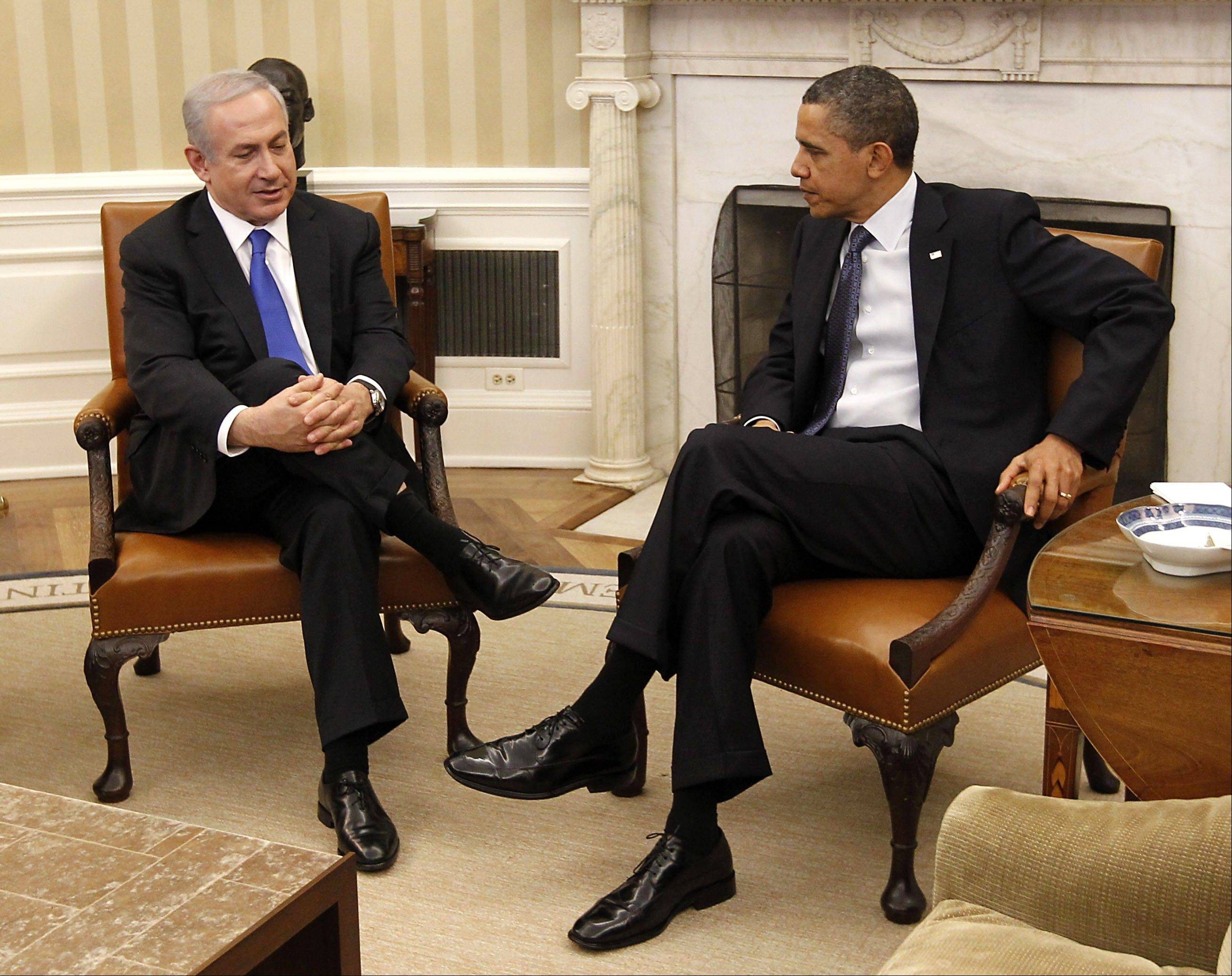 Associated Press/March 5, 2012 President Barack Obama meets with Israeli Prime Minister Benjamin Netanyahu in the Oval Office of the White House in Washington.