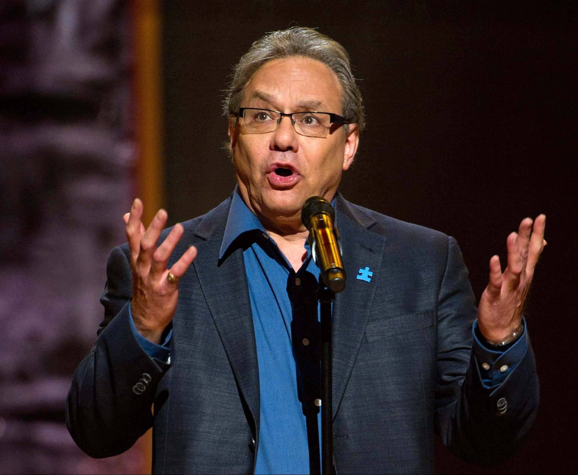 Lewis Black will bring his trademark frustration and high blood pressure style to the Richard Rodgers Theater from Oct. 9-14.