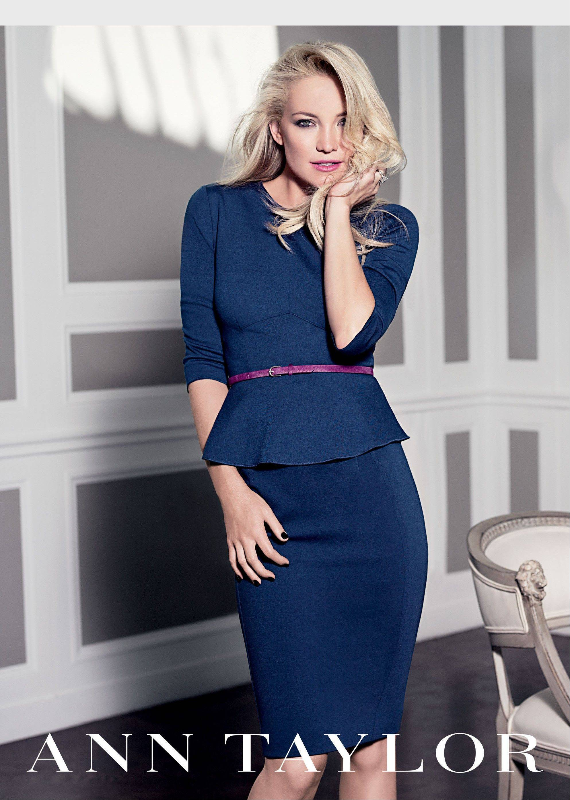 Kate Hudson to return as face of Ann Taylor's Fall 2012 ad campaign.