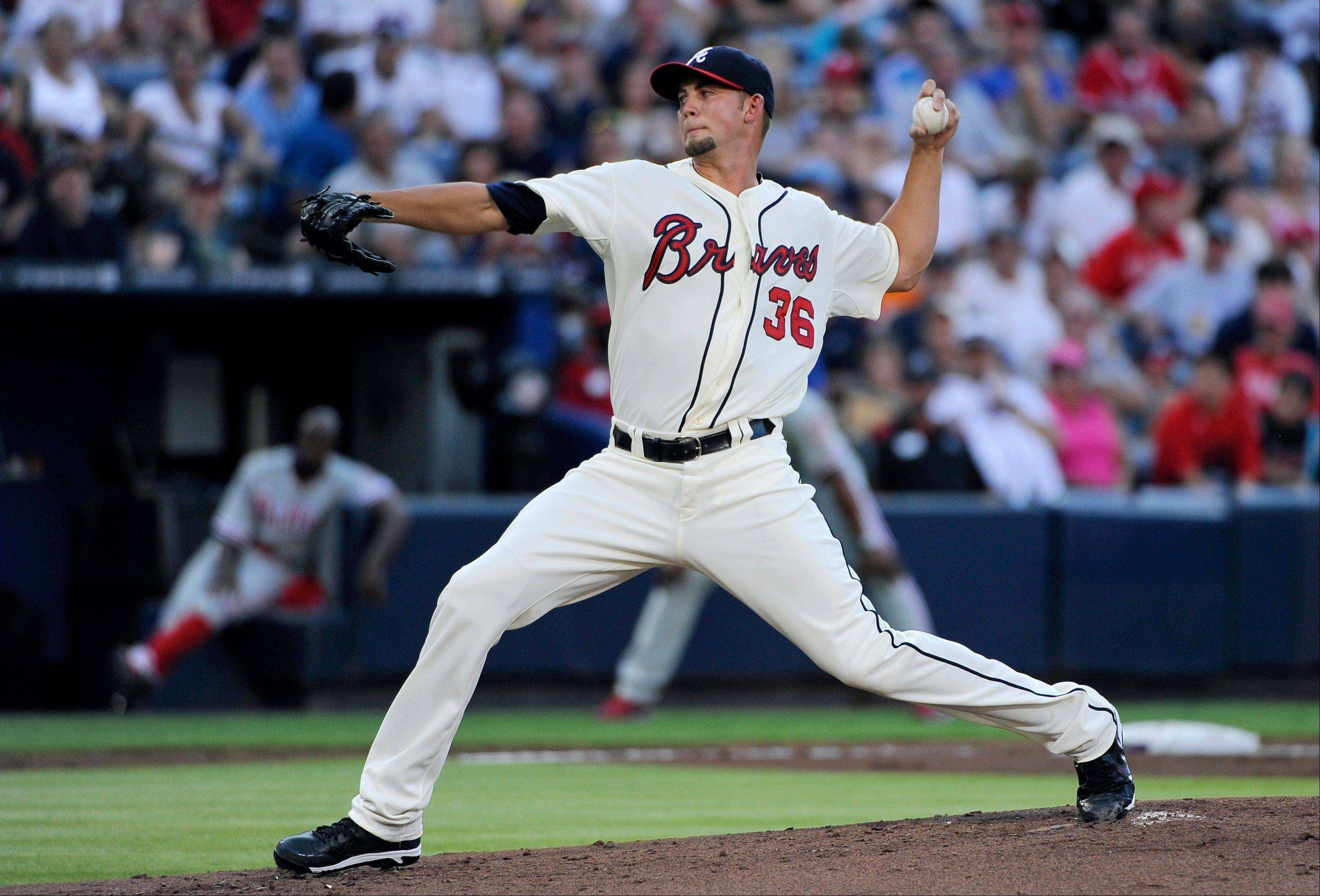 Atlanta Braves starting pitcher Mike Minor allowed one run on four hits and no walks in eight innings Saturday at home against Philadelphia.