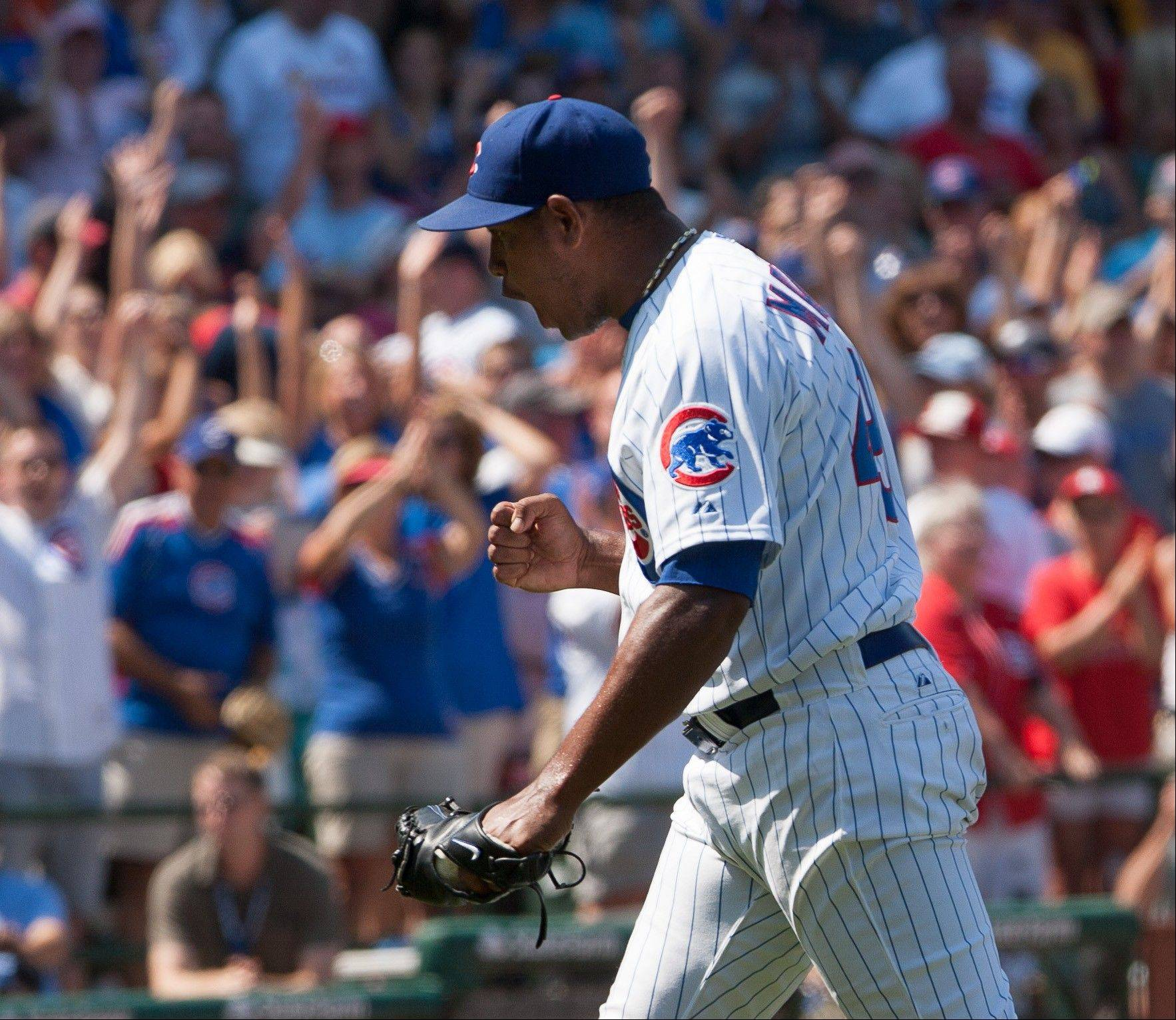After a 22-pitch ninth inning, Carlos Marmol notched his 12th straight save.